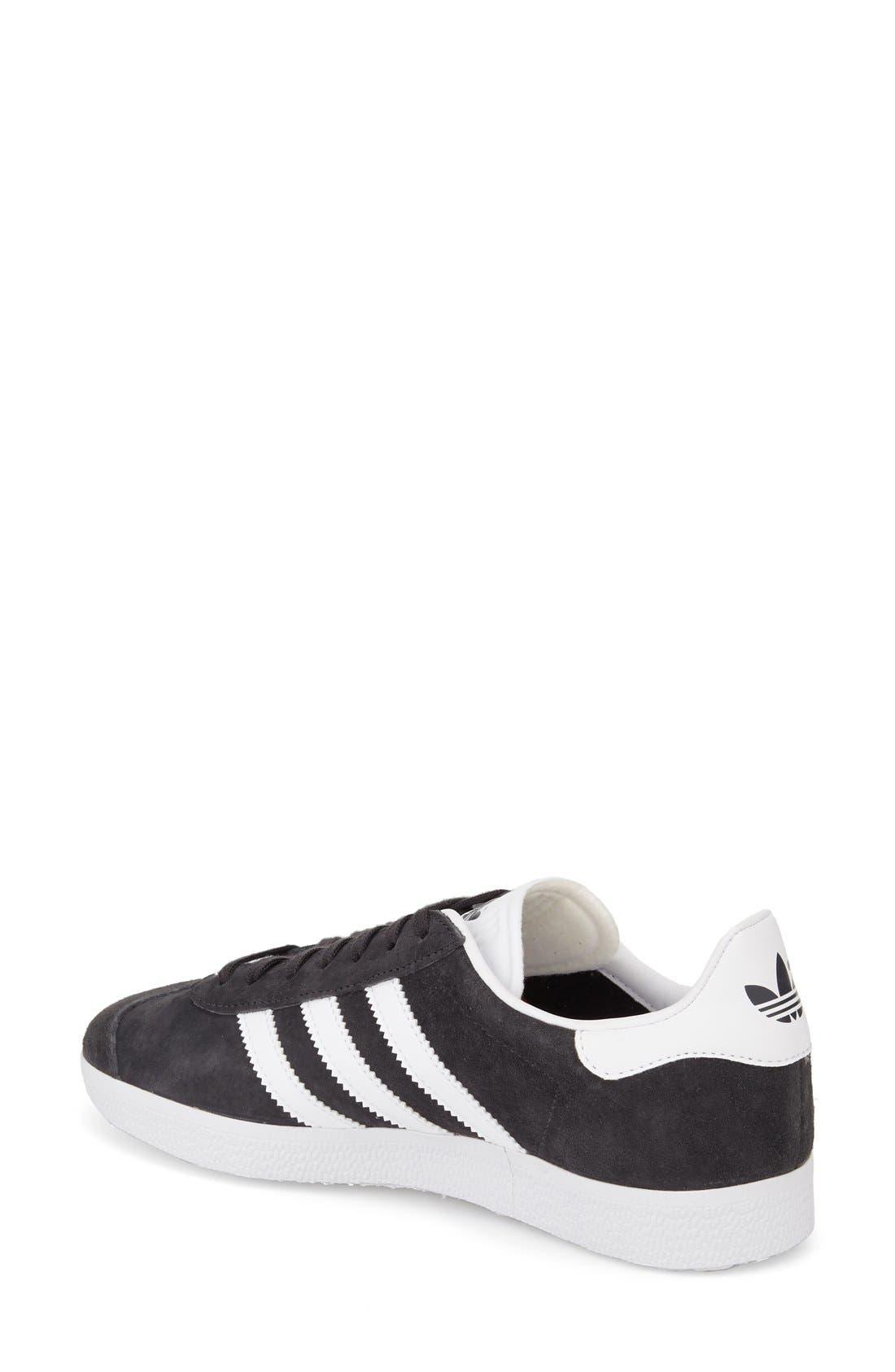 Gazelle Sneaker,                             Alternate thumbnail 2, color,                             Solid Grey