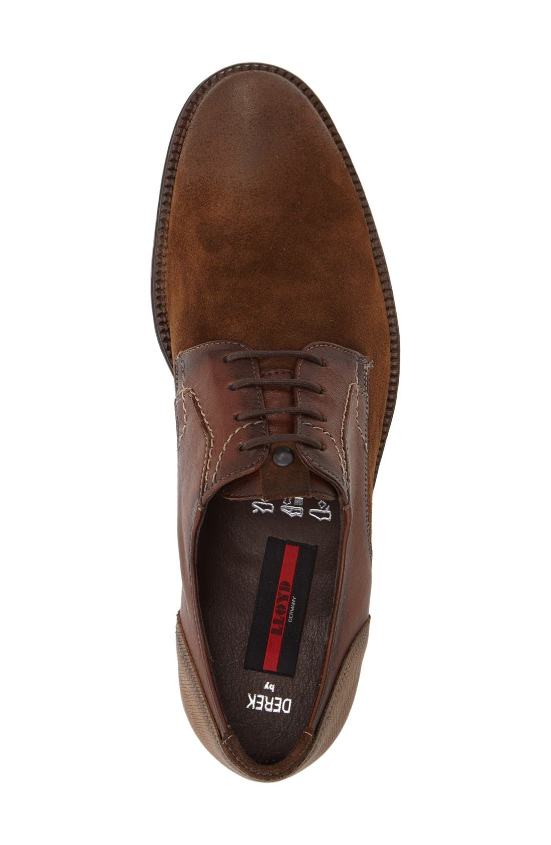 Alternate Image 3  - Lloyd Derek Plain Toe Derby (Men)