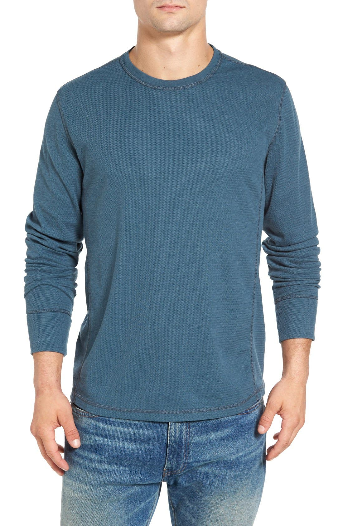 Alternate Image 1 Selected - Jeremiah Larsen Zigzag Thermal T-Shirt