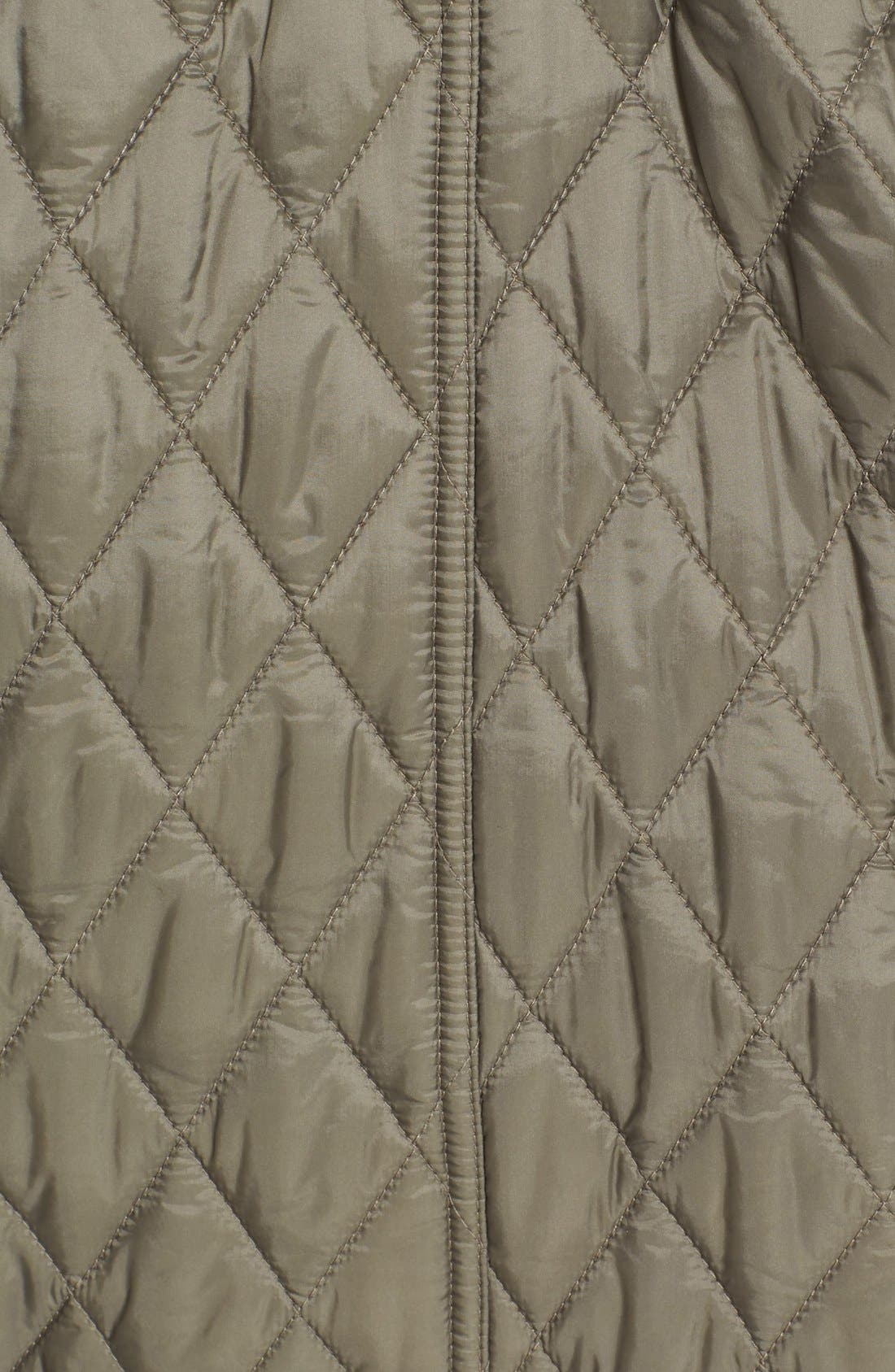 Alternate Image 3  - Burberry Finsbridge Belted Quilted Jacket