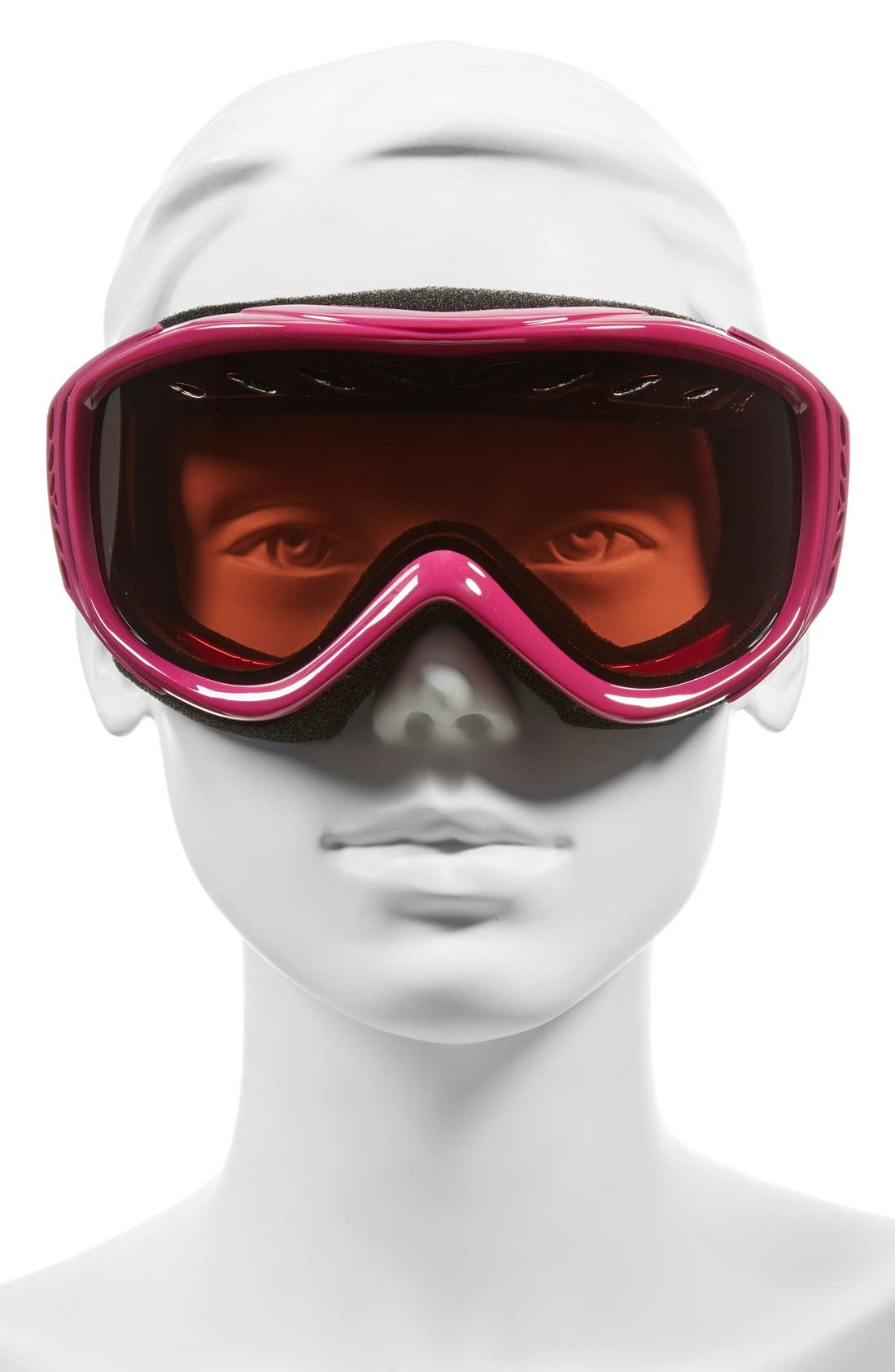 'Transit' Snow Goggles,                             Alternate thumbnail 2, color,                             Fuchsia Static/ Rc36