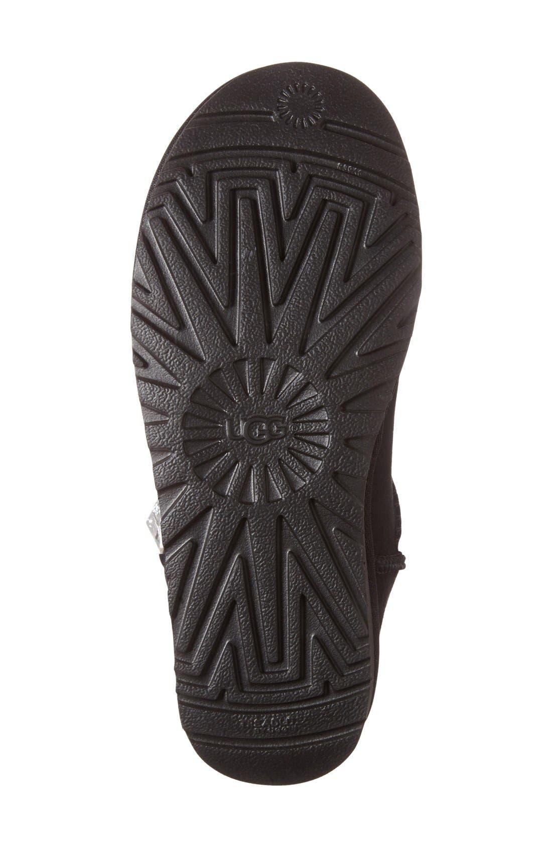 Alternate Image 4  - UGG® Mini Bailey Button Bling Boot (Women)