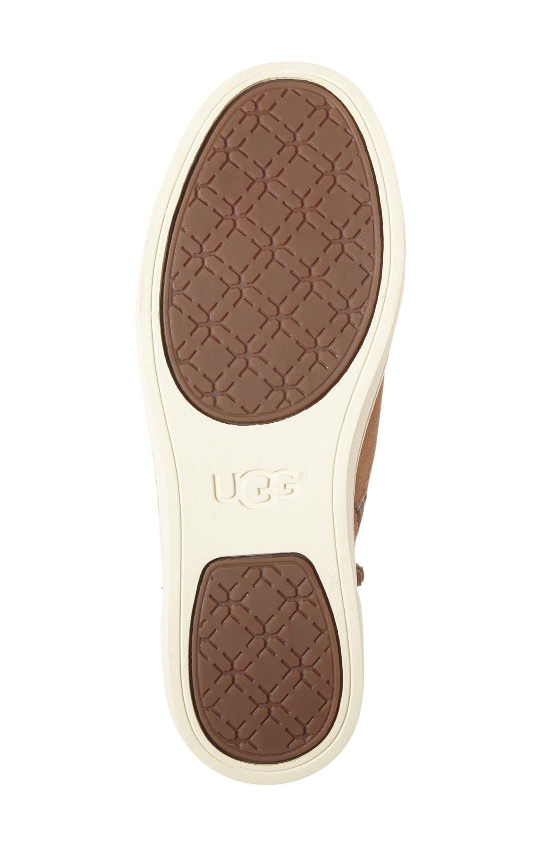 Alternate Image 4  - UGG® Gradie Deco Stud High Top Sneaker (Women)
