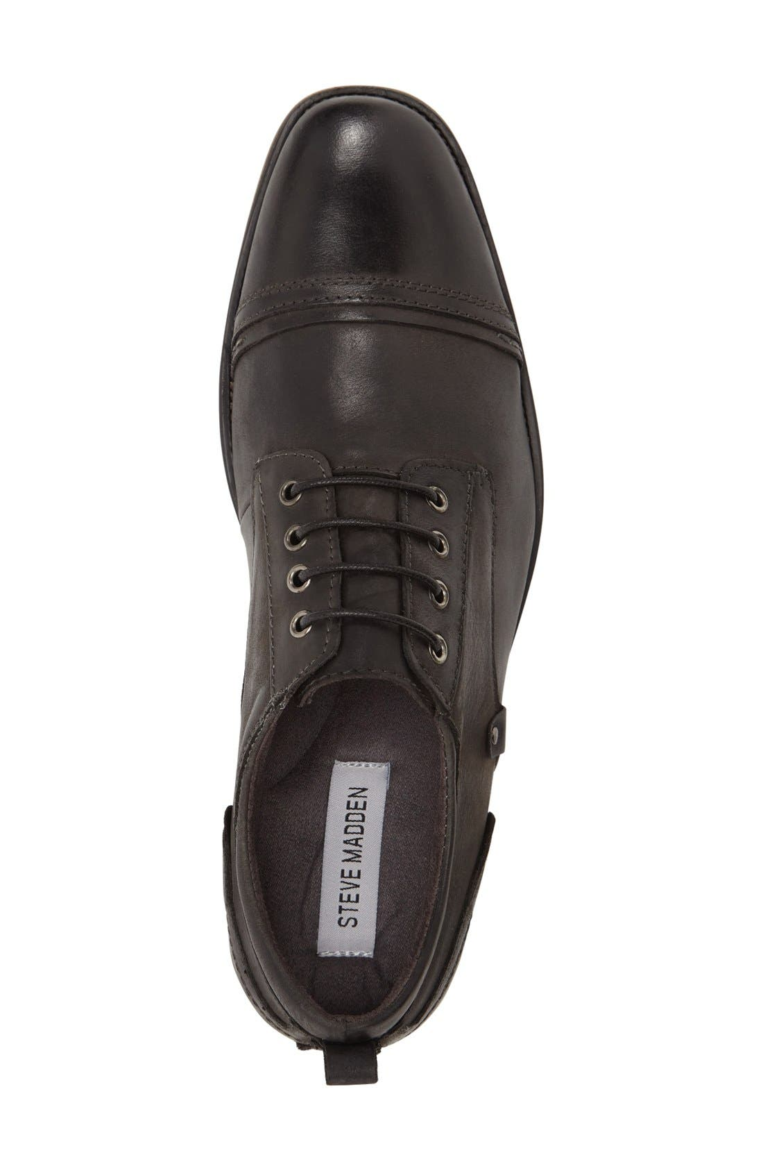 Alternate Image 3  - Steve Madden Jamyson Cap Toe Derby (Men)