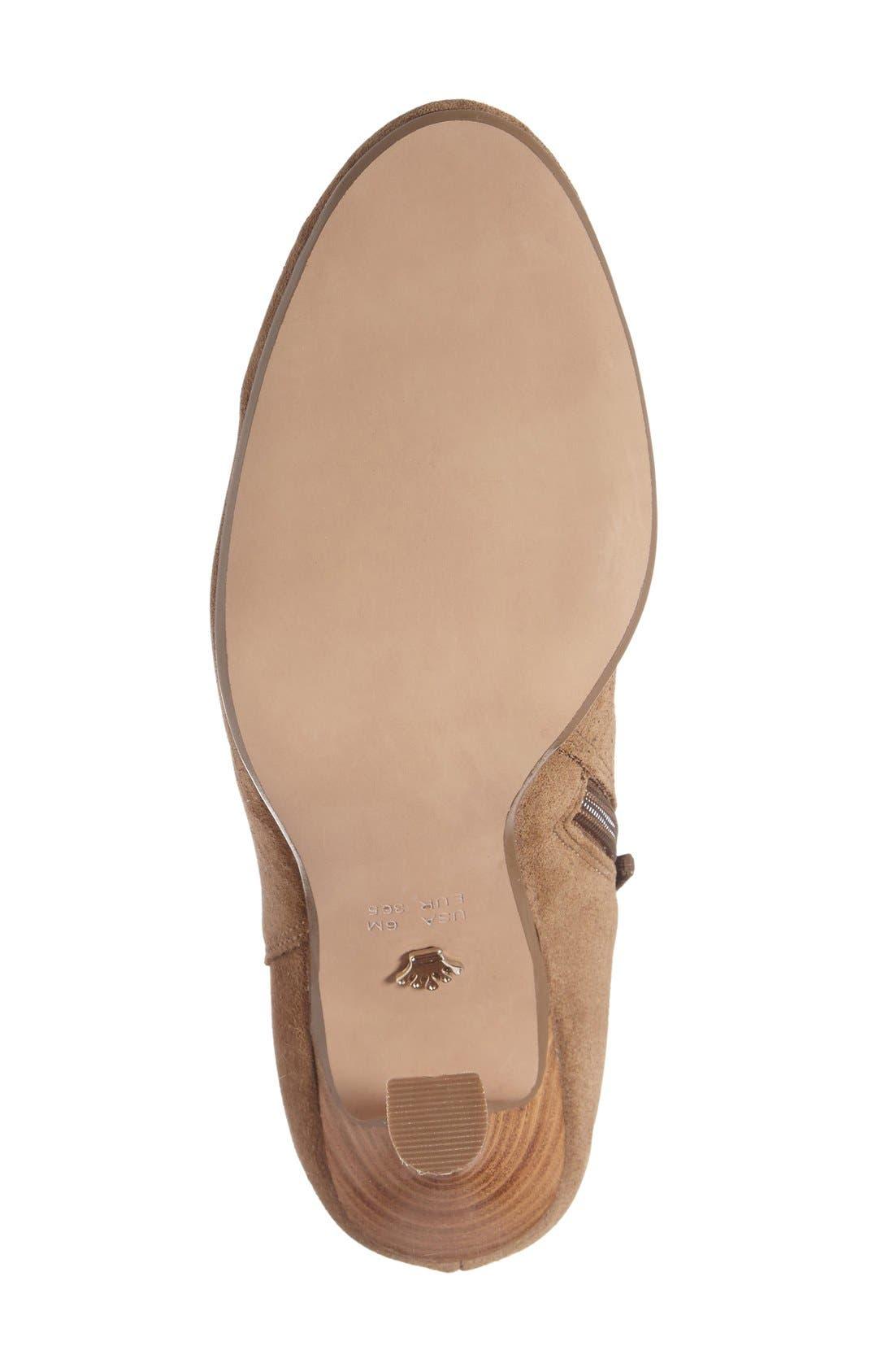 Alternate Image 4  - Nina 'Iolathe' Flared Heel Bootie (Women)