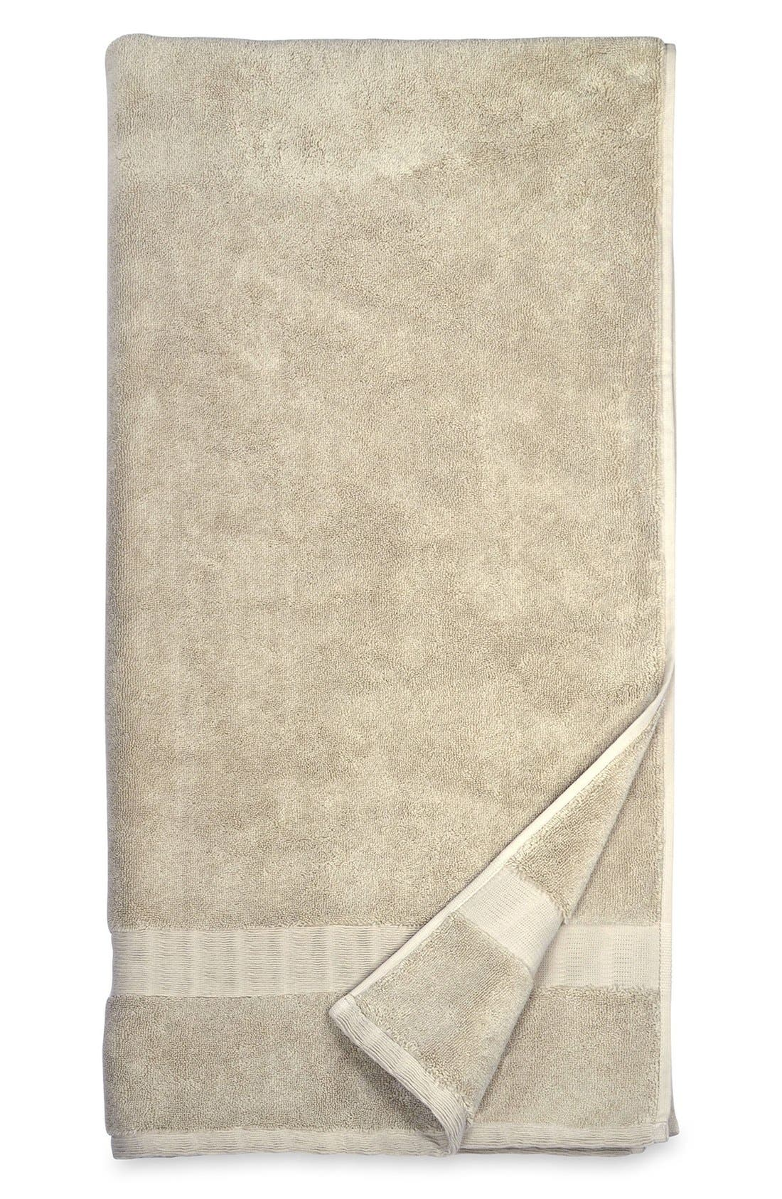 Mercer Bath Towel,                             Main thumbnail 1, color,                             Stone