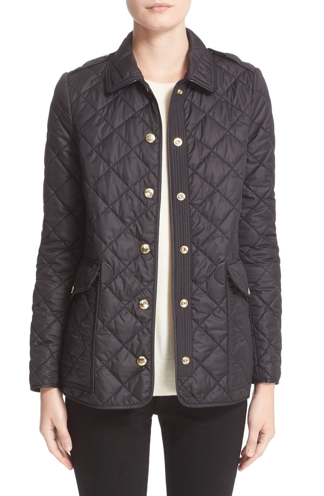 Burberry Westbridge Quilted Jacket