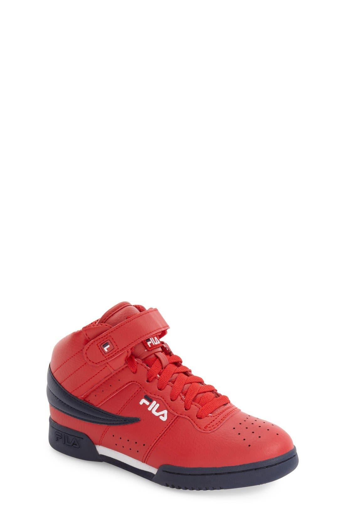 FILA F-13 High Top Sneaker (Big Kid)