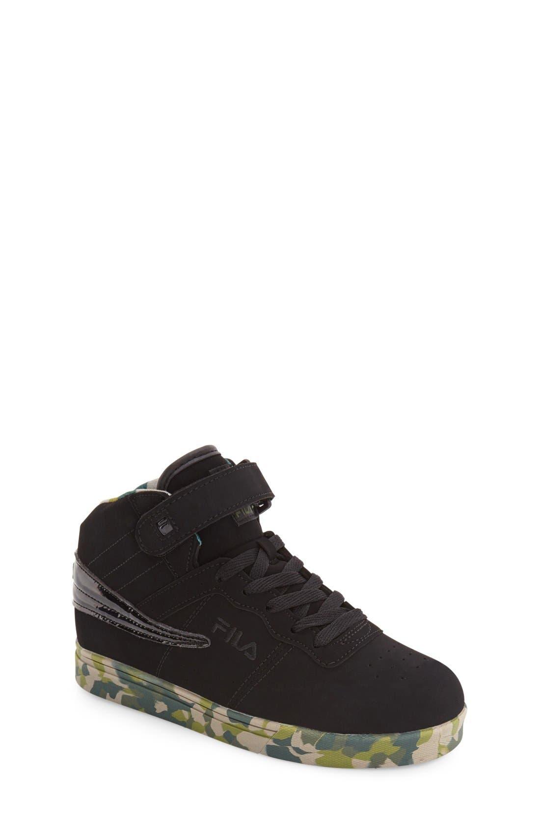 Alternate Image 1 Selected - FILA Vulc 13 Mashup High Top Sneaker (Toddler, Little Kid & Big Kid)