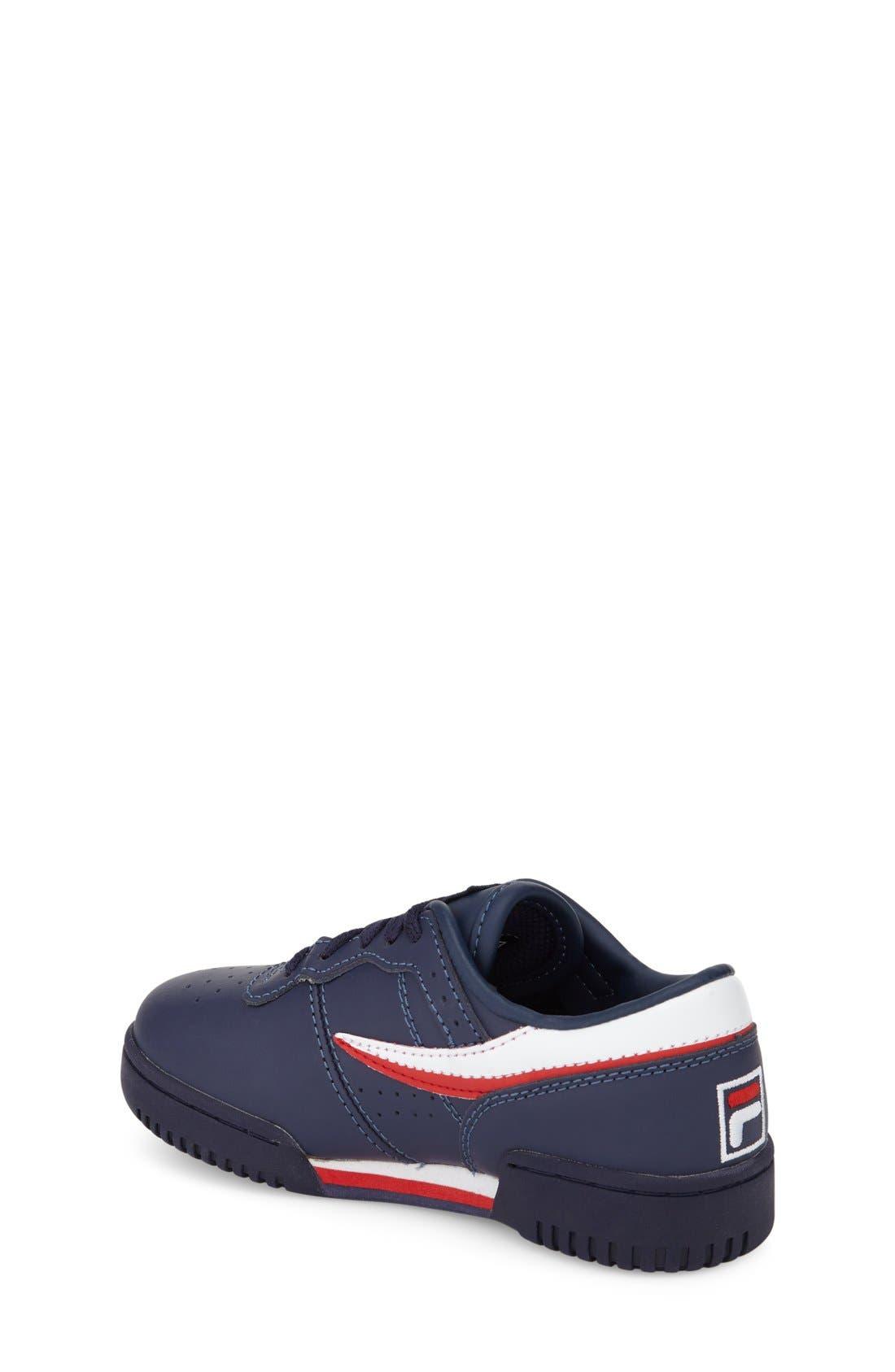 Alternate Image 2  - FILA Original Sneaker (Toddler, Little Kid & Big Kid)