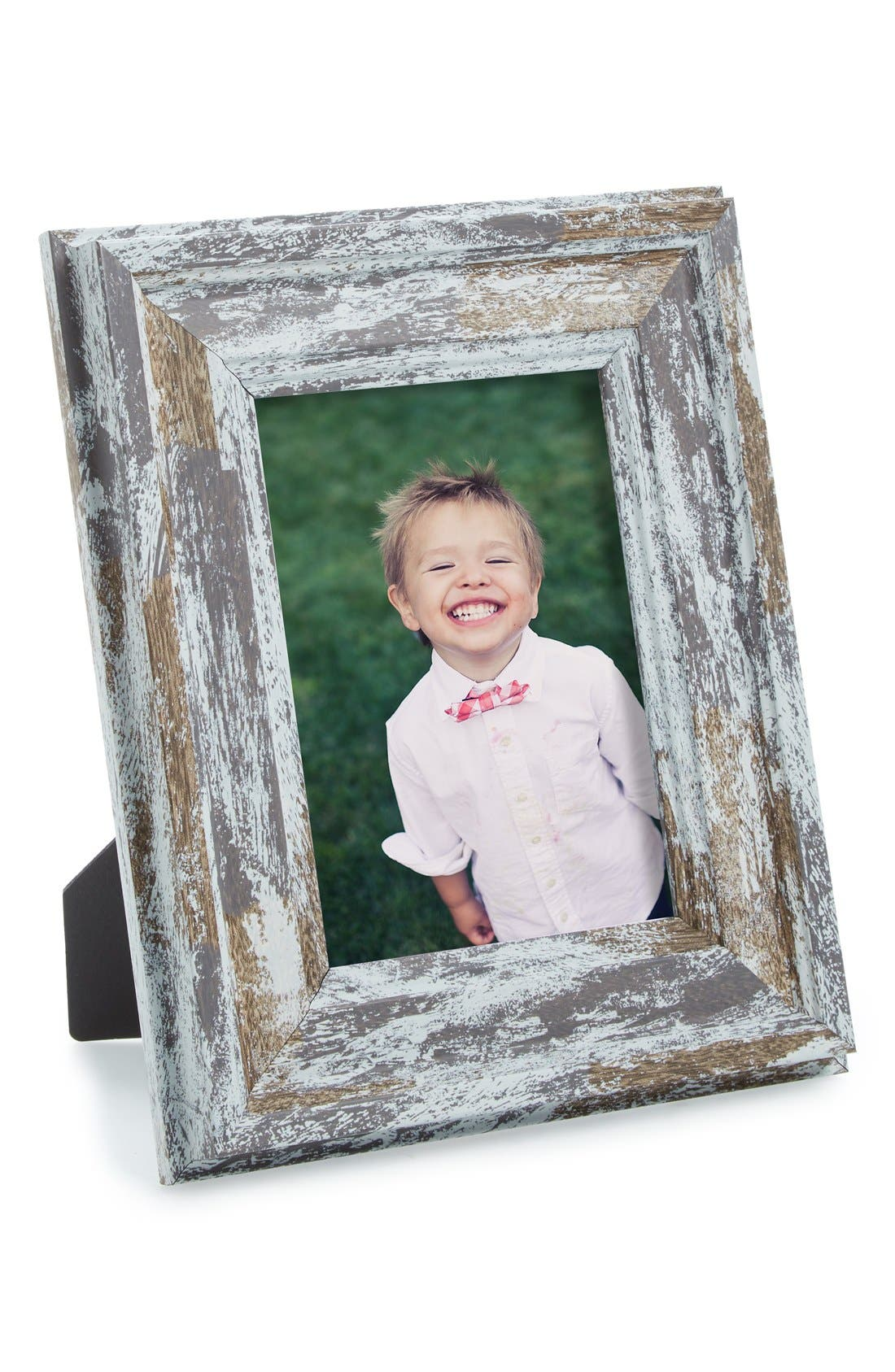 Distressed Picture Frame,                         Main,                         color, Grey