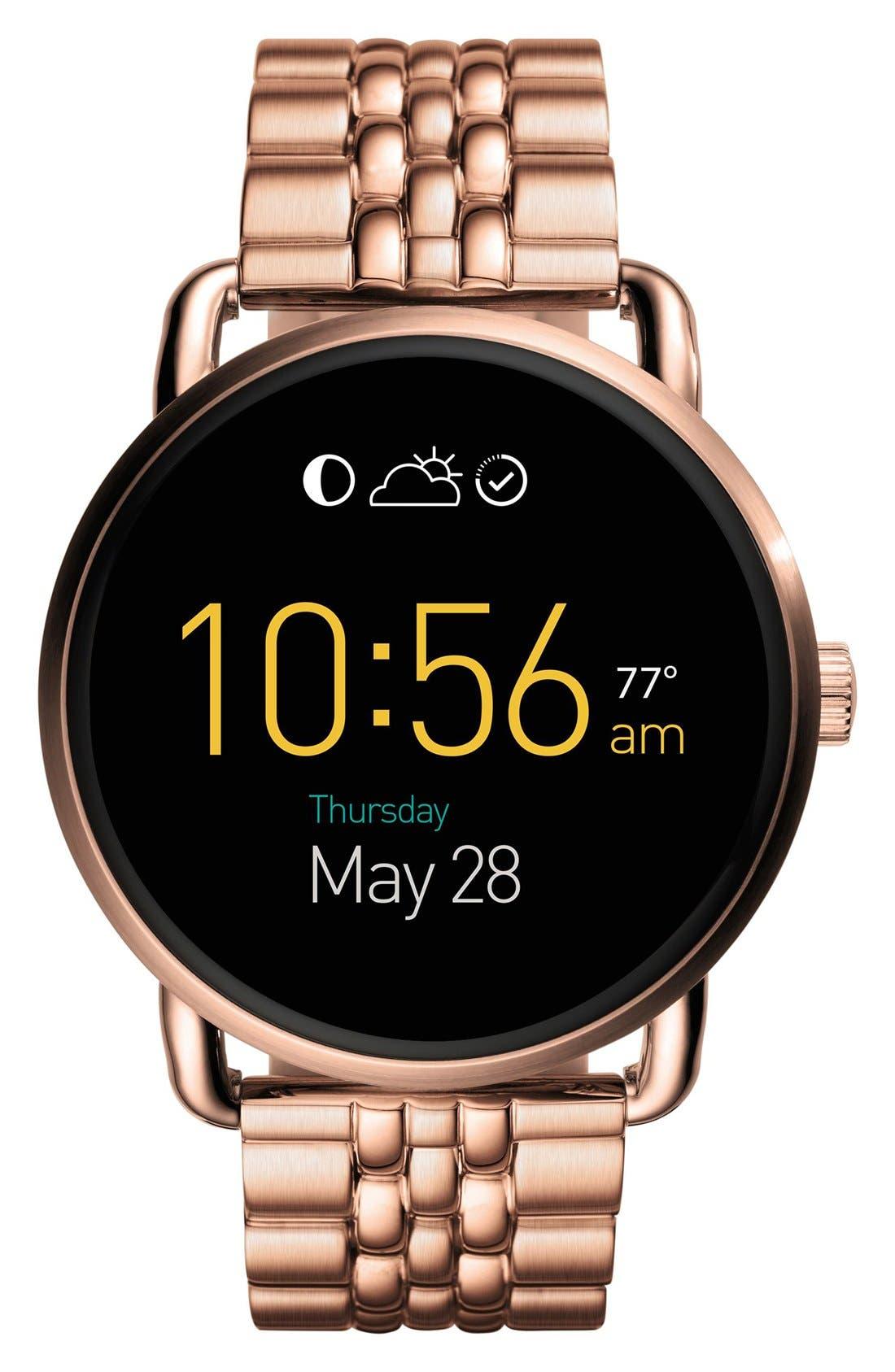 Fossil Q Wander Digital Smart Bracelet Watch, 45mm