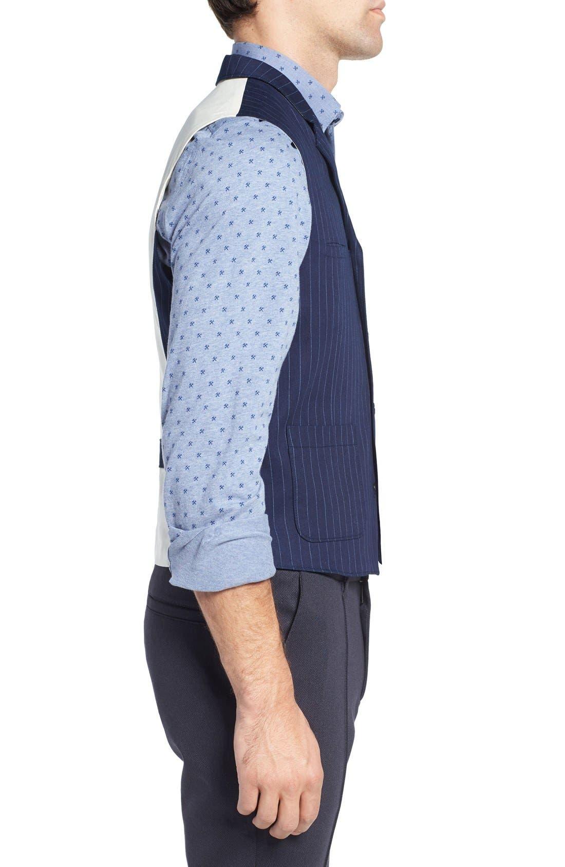 Alternate Image 3  - W.R.K Windsor Pinstripe Cotton Twill Vest