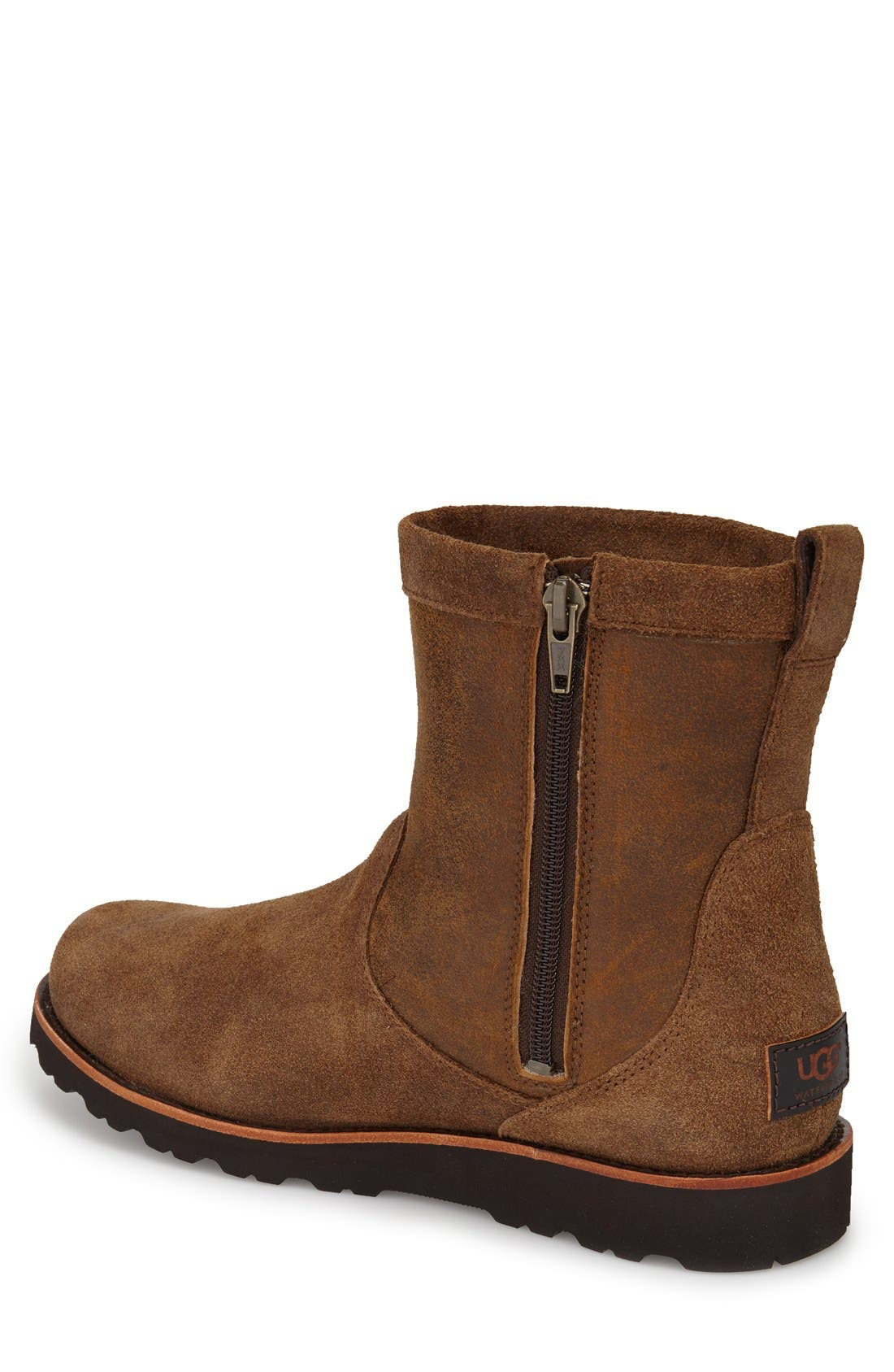 Alternate Image 2  - UGG Hendren Bomber Zip Boot (Men)