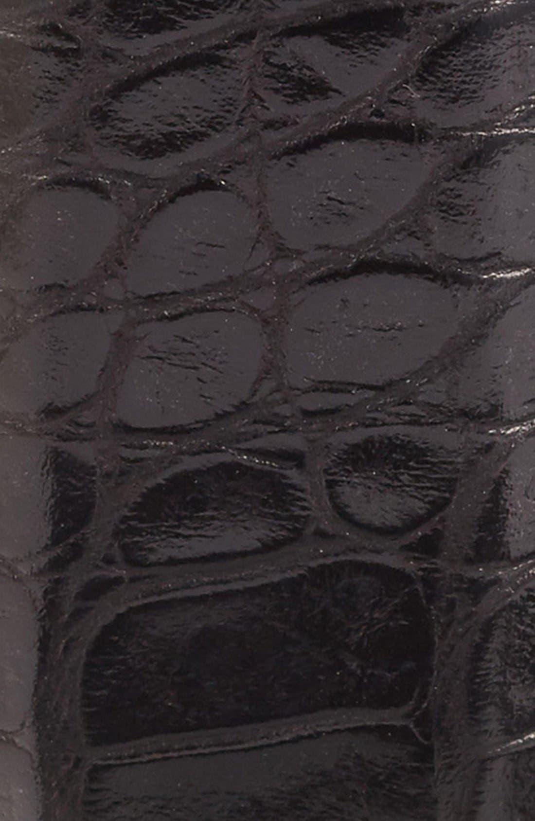 Anthony Leather Belt,                             Alternate thumbnail 2, color,                             Black