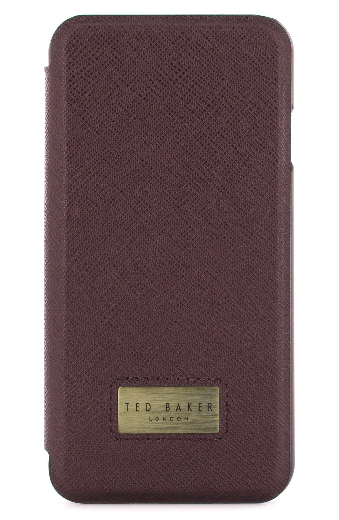 TED BAKER LONDON Aries iPhone 7 Folio