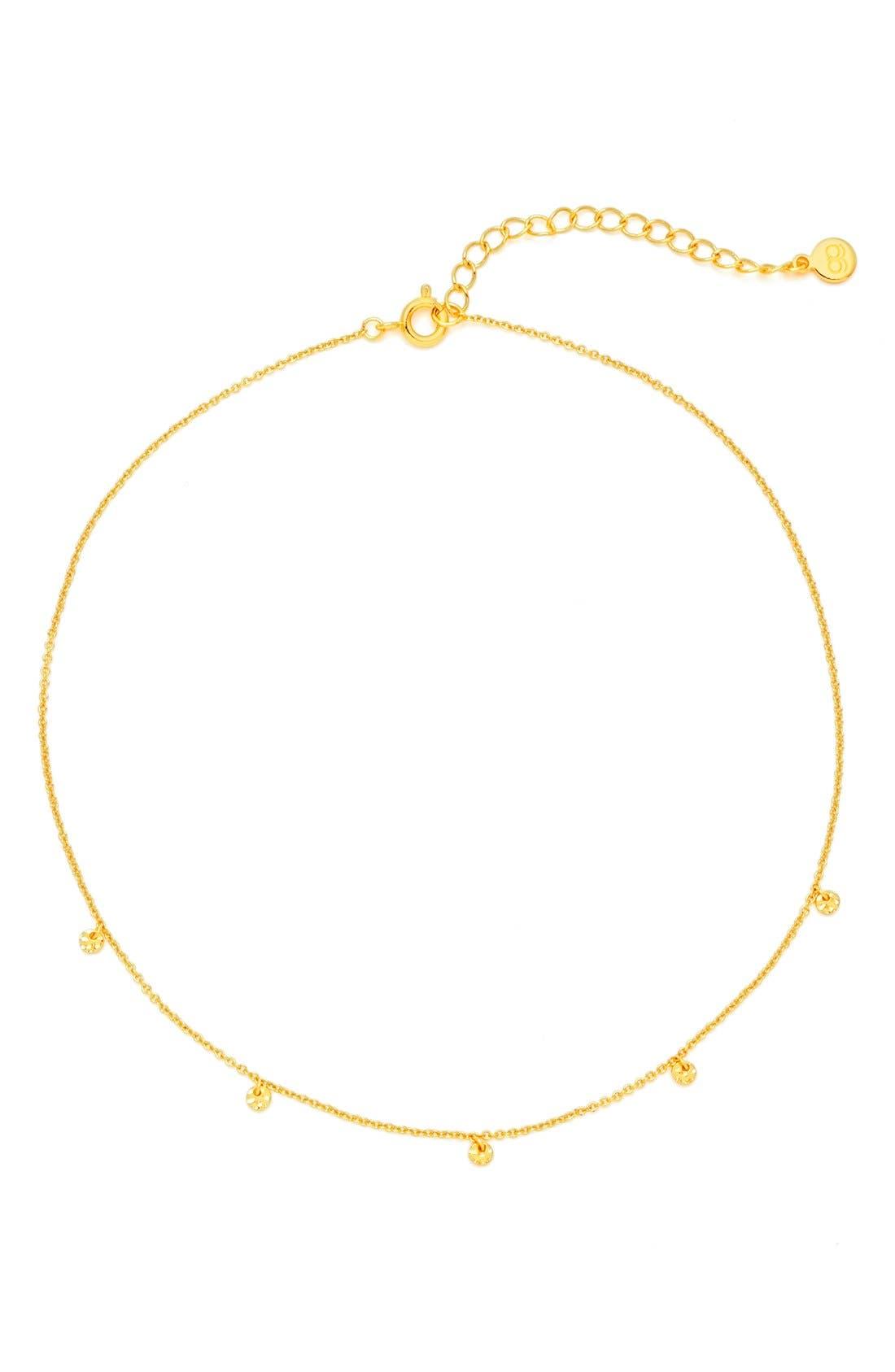 gorjana Charm Choker Necklace