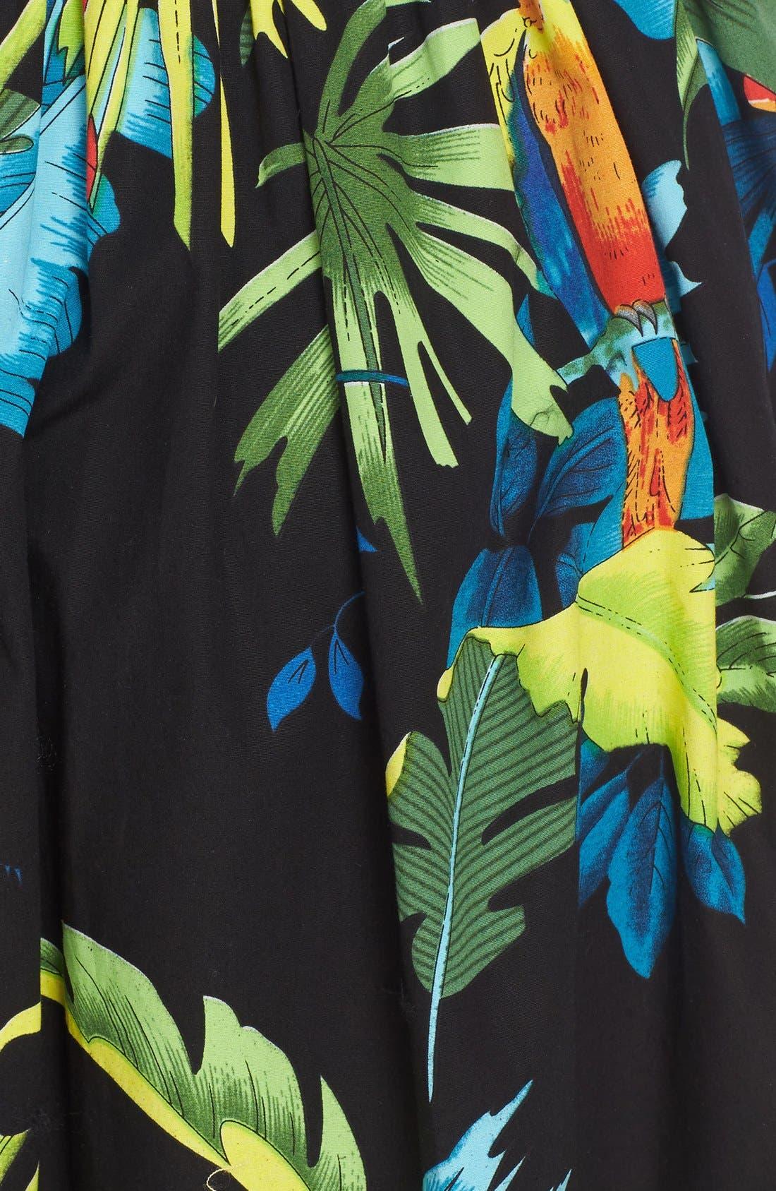 Alternate Image 3  - MARC JACOBS Parrot Print Cotton Poplin Full Skirt