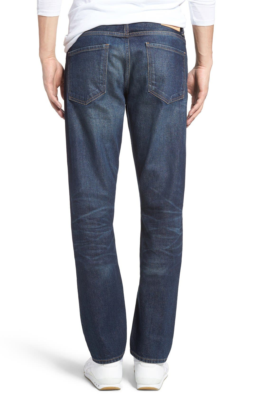 Bowery Slim Fit Jeans,                             Alternate thumbnail 2, color,                             Hesperia