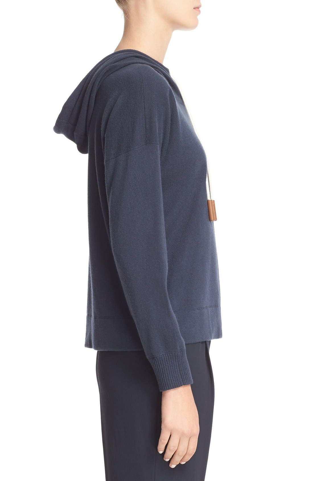 Alternate Image 5  - Fabiana Filippi Cashmere Hooded Sweatshirt