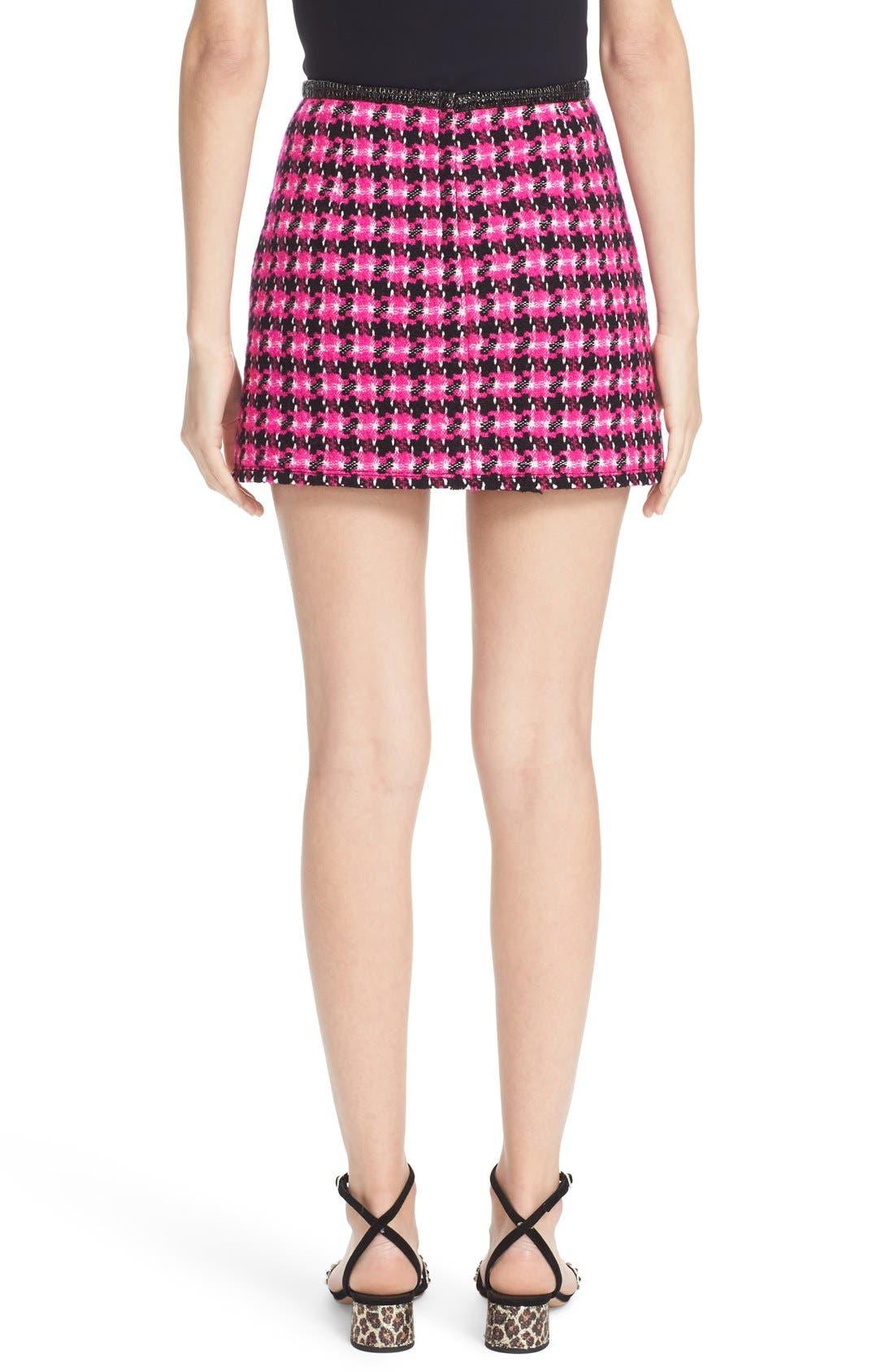 Alternate Image 2  - MARC JACOBS Geo Tweed Miniskirt
