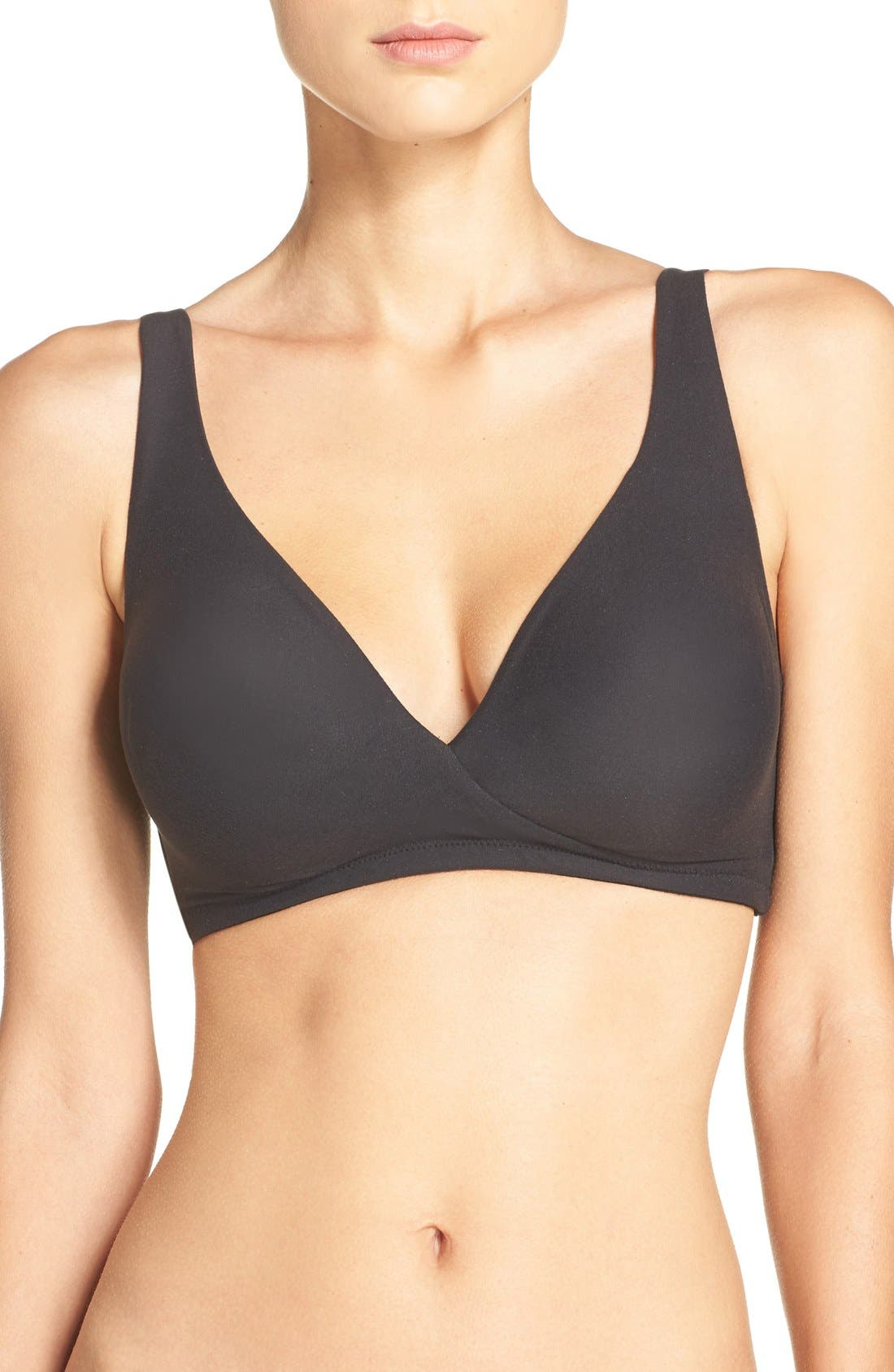 How Perfect Wireless Bra,                             Main thumbnail 1, color,                             Black