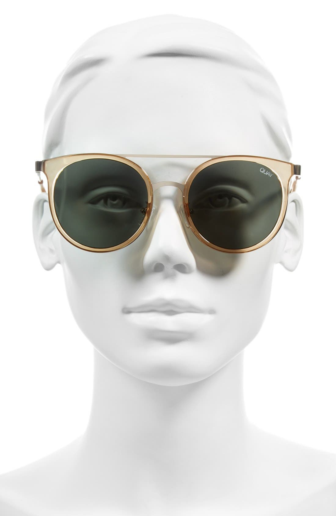 Alternate Image 2  - Quay Australia Kandy Gram 51mm Round Sunglasses