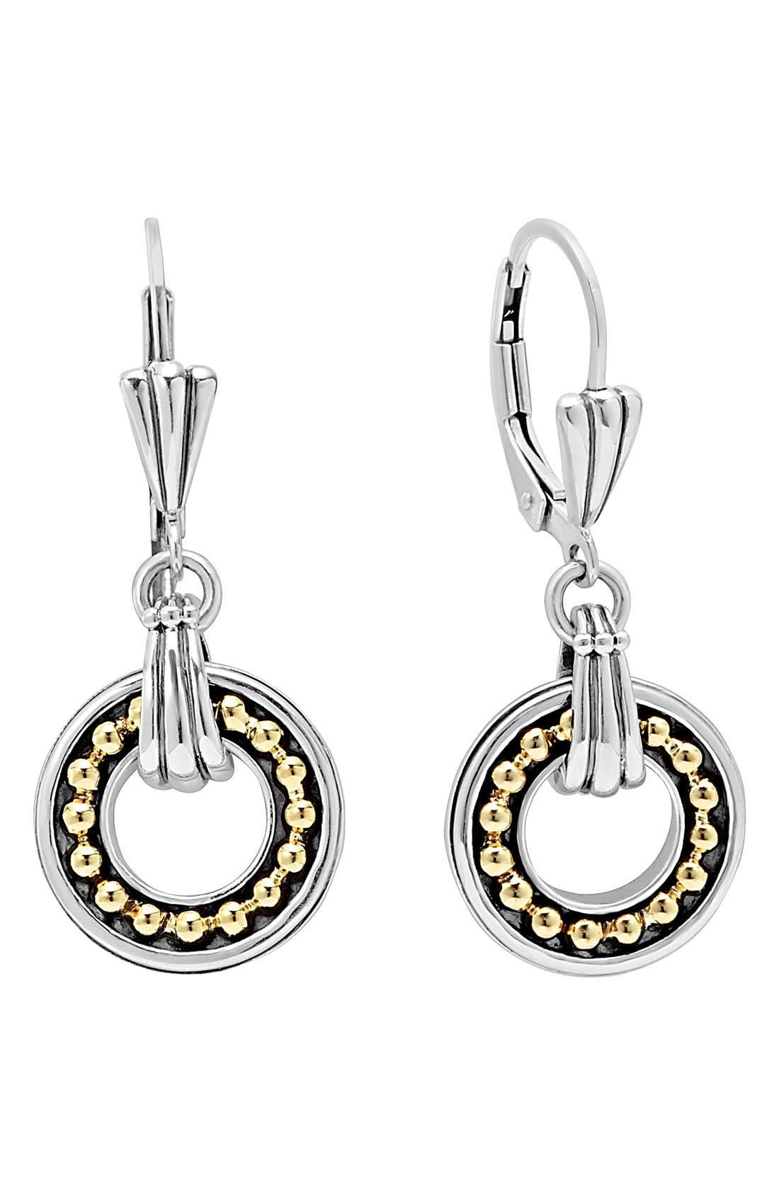 Main Image - LAGOS Enso Two Tone Drop Earrings