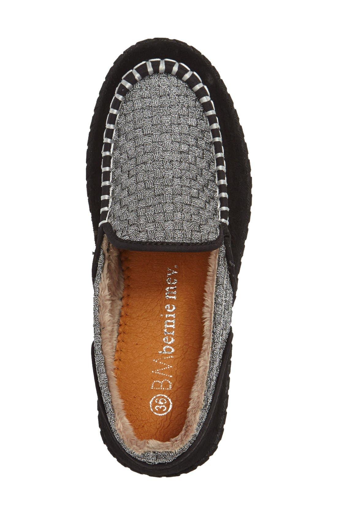 Alternate Image 3  - bernie mev. Faux Fur Lined Loafer Slipper (Women)