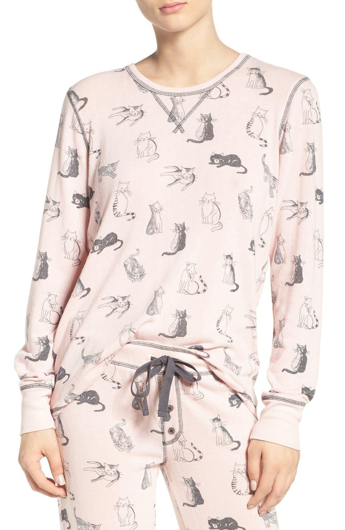Alternate Image 1 Selected - PJ Salvage Peachy Jersey Top