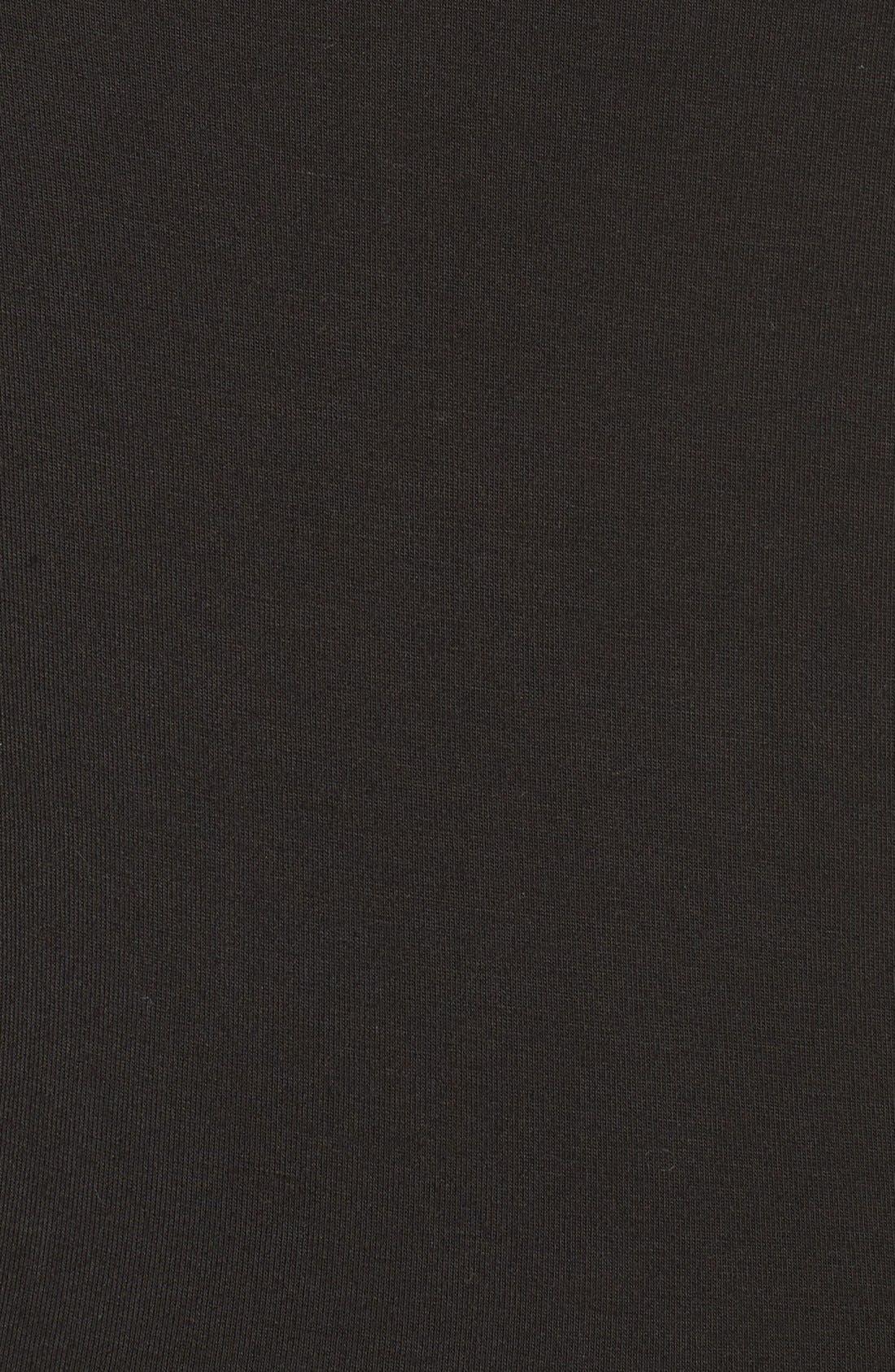 Cover-Up Jumpsuit,                             Alternate thumbnail 5, color,                             Black