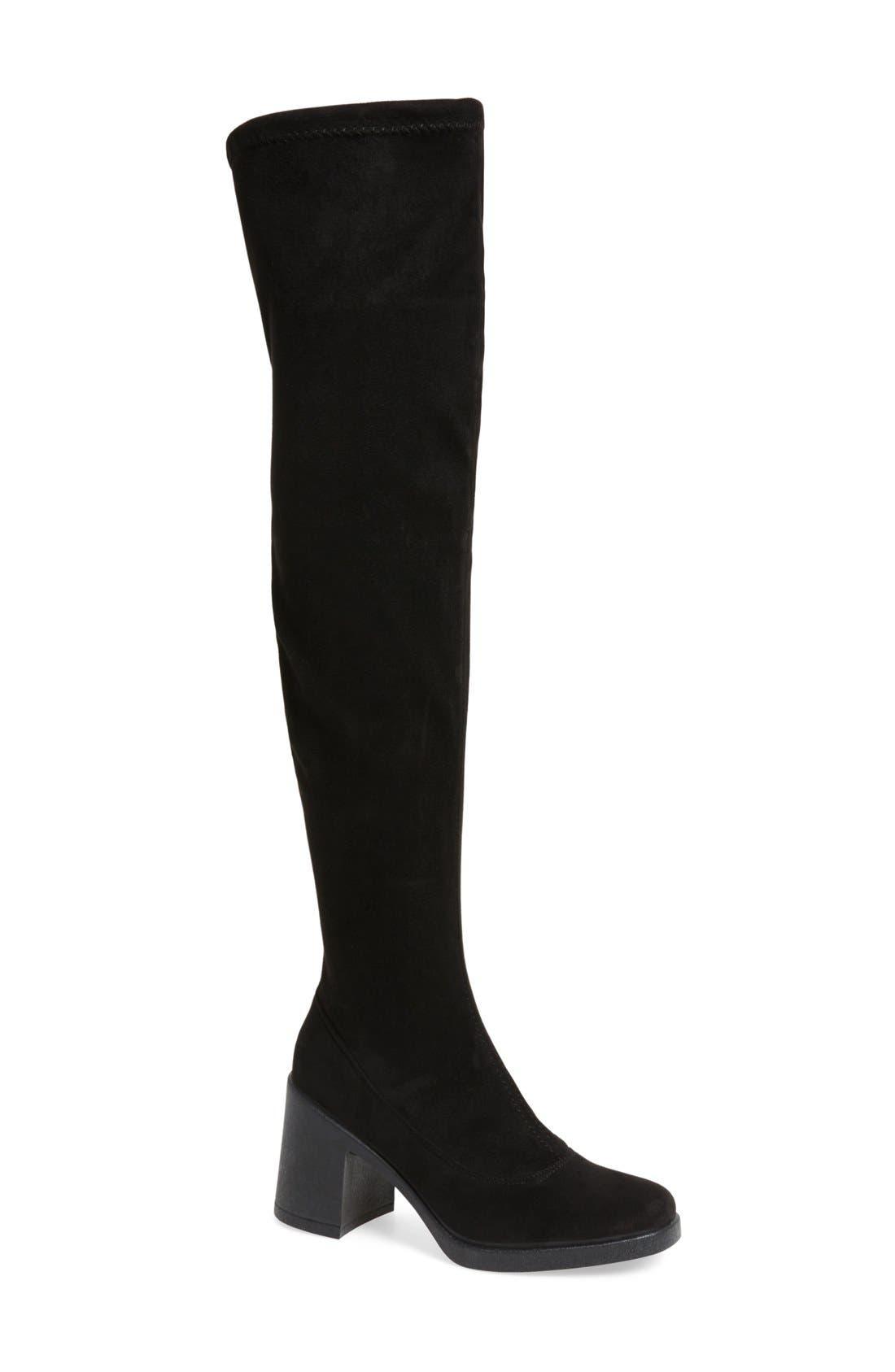 Topshop Capri Over the Knee Boot (Women)