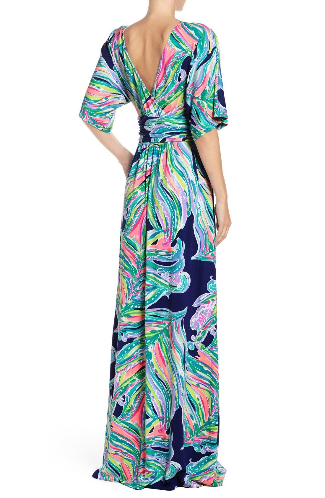 Alternate Image 2  - Lilly Pulitzer® Parigi Maxi Dress