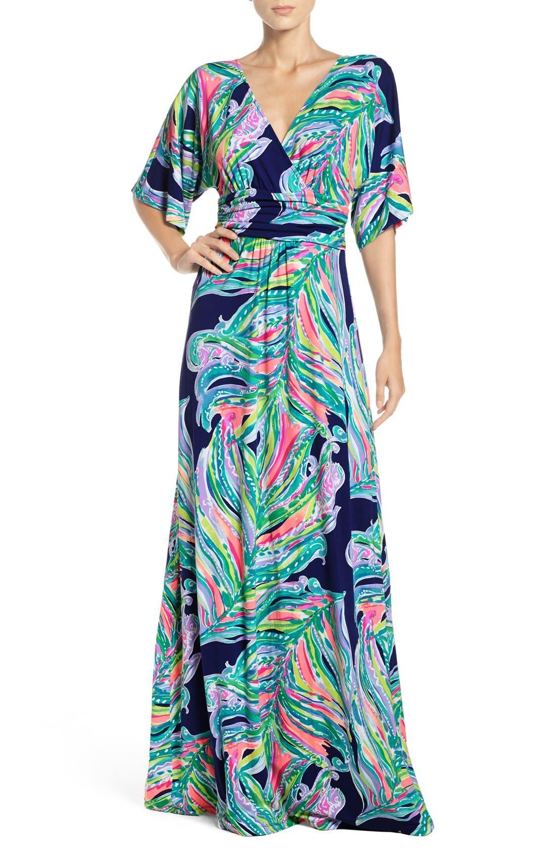 Alternate Image 1 Selected - Lilly Pulitzer® Parigi Maxi Dress