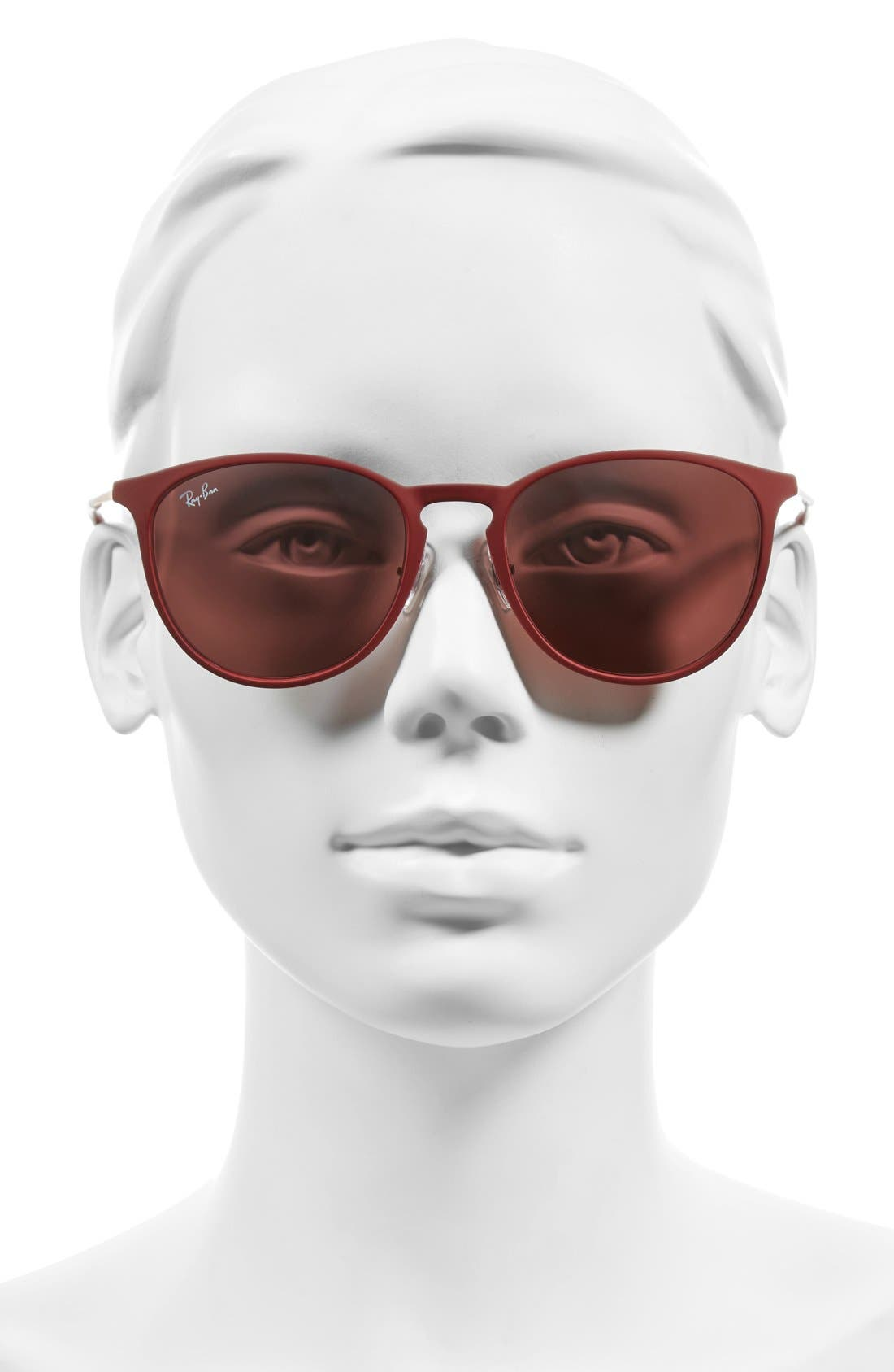 Highstreet 54mm Sunglasses,                             Alternate thumbnail 2, color,                             Bordeaux