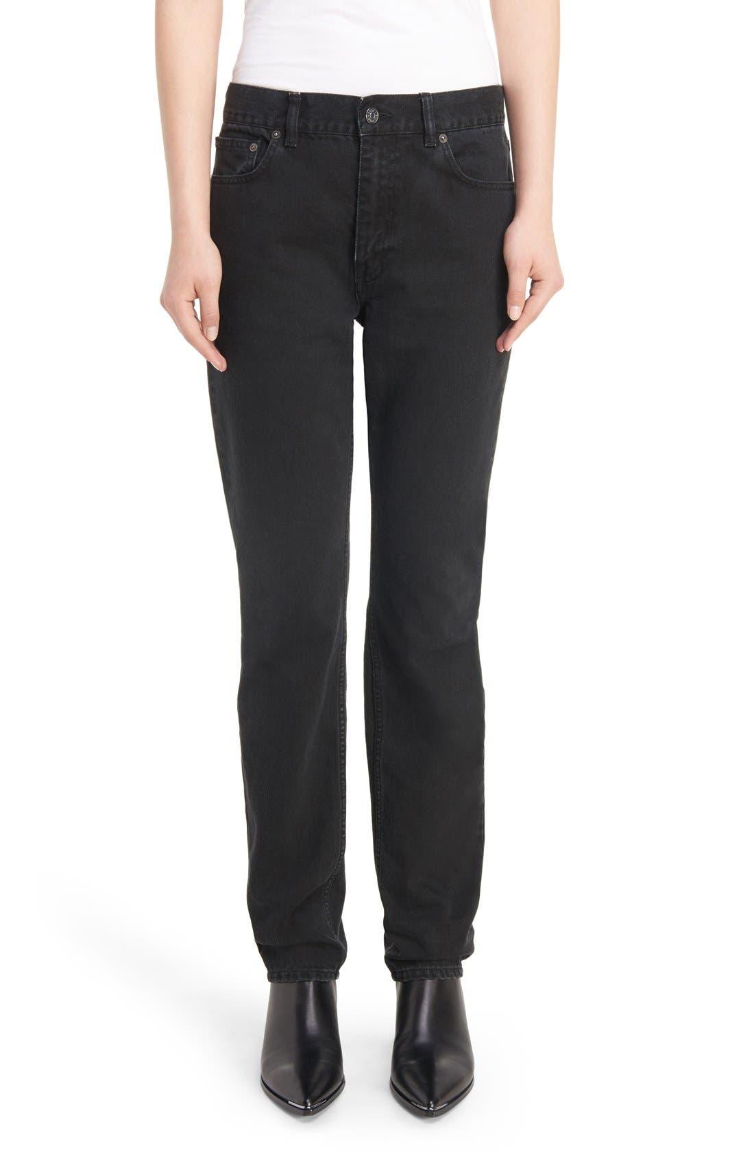 Boy Jeans,                         Main,                         color, Black