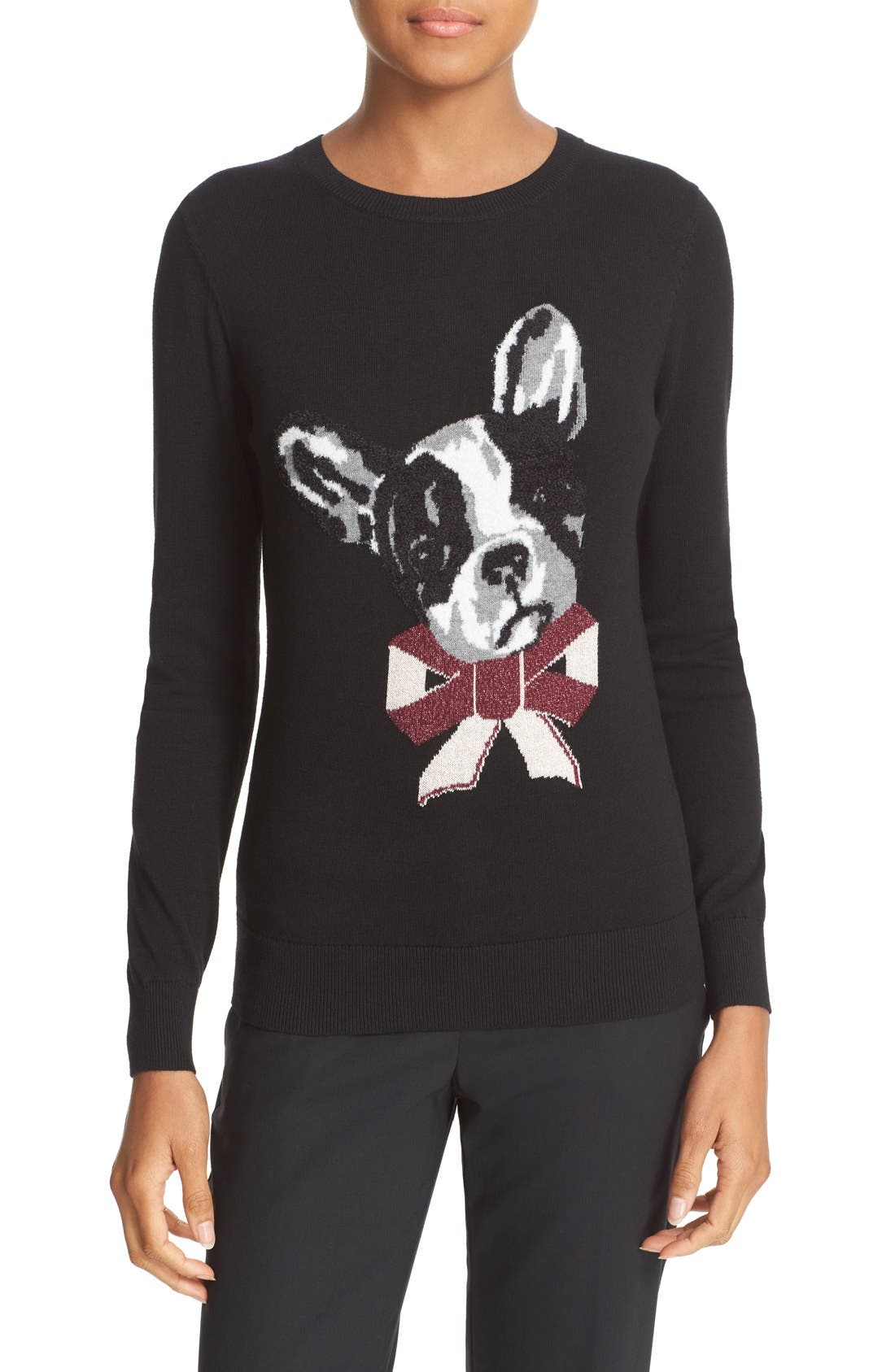 Alternate Image 1 Selected - Ted Baker London Henie Merry Woofmas Sweater