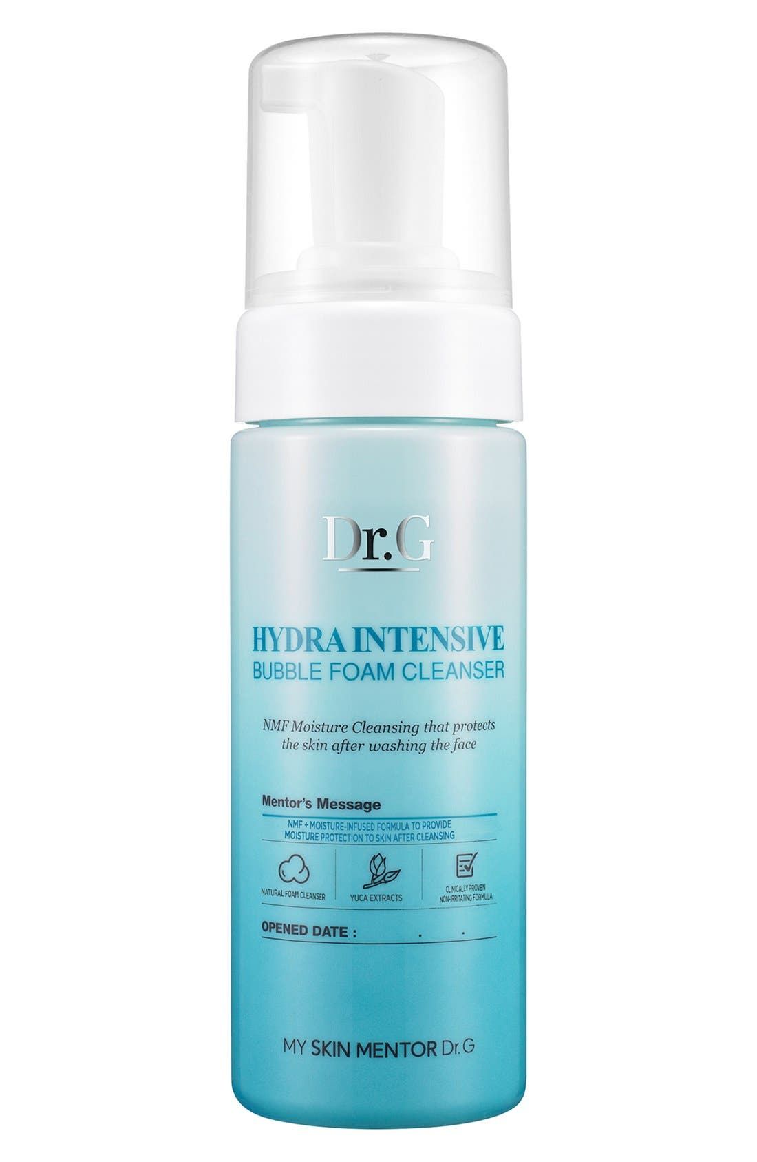 My Skin Mentor Dr. G Beauty Hydra Intensive Bubble Foam Cleanser