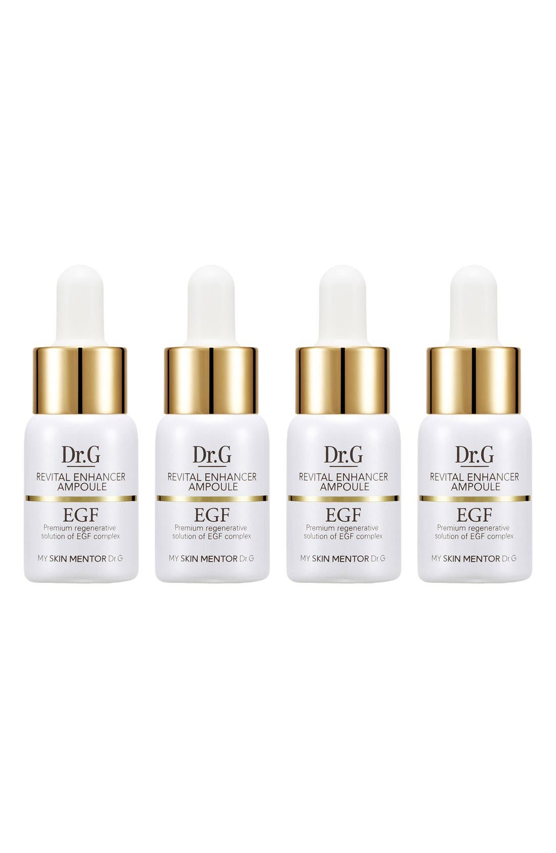My Skin Mentor Dr. G Beauty Revital Enhancer EGF Ampoule Four-Week Program