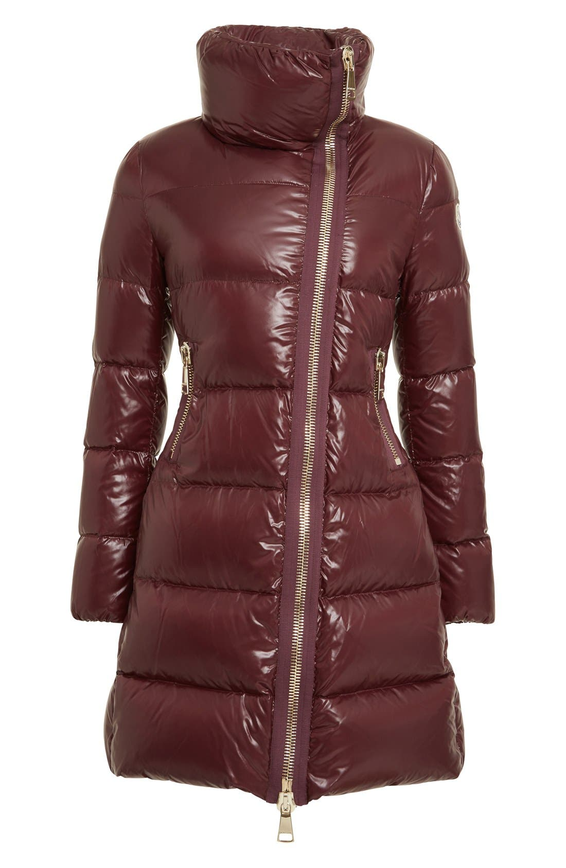 Alternate Image 6  - Moncler 'Joinville' Water Resistant High Collar Down Puffer Coat