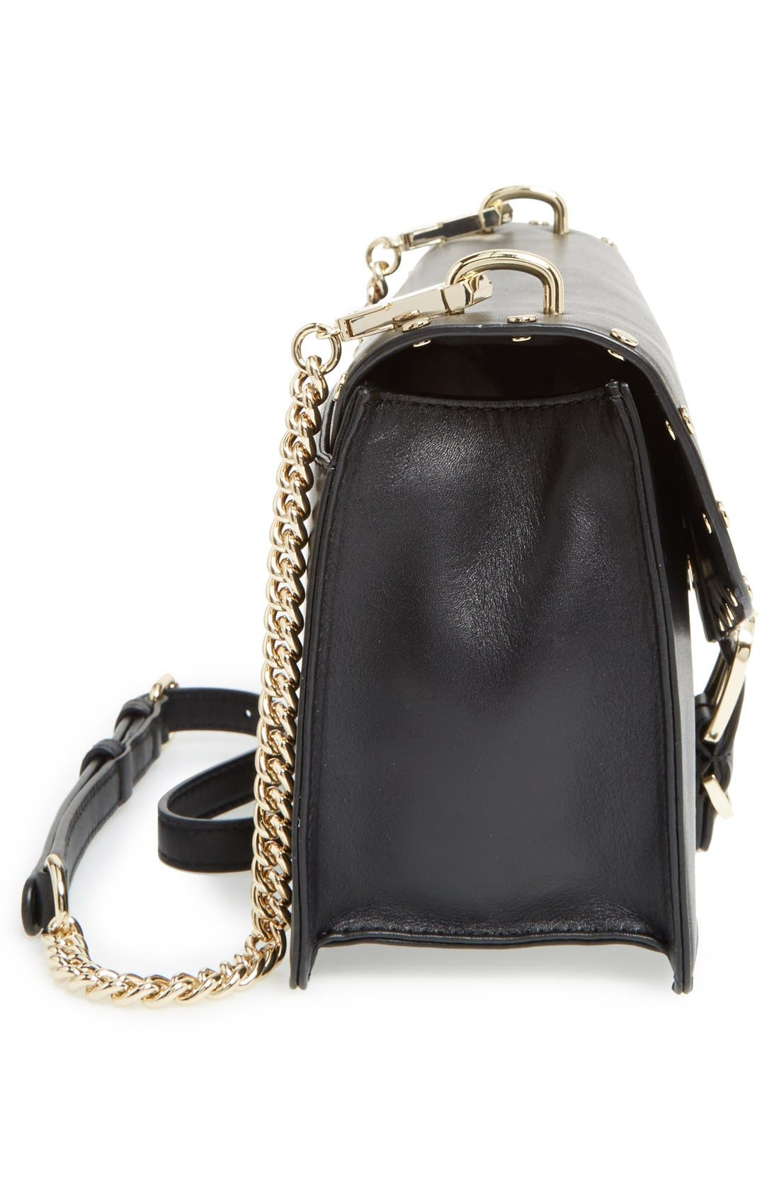 Alternate Image 5  - Rebecca Minkoff Medium Biker Leather Shoulder Bag