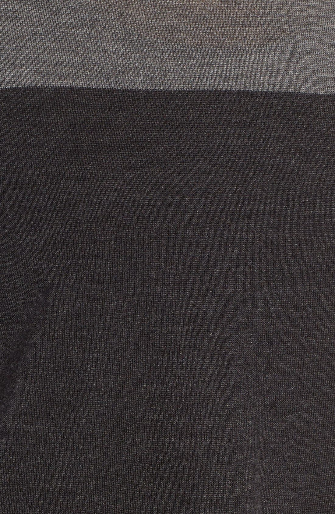 Alternate Image 5  - Eileen Fisher Colorblock Merino Wool Sweater (Regular & Petite)