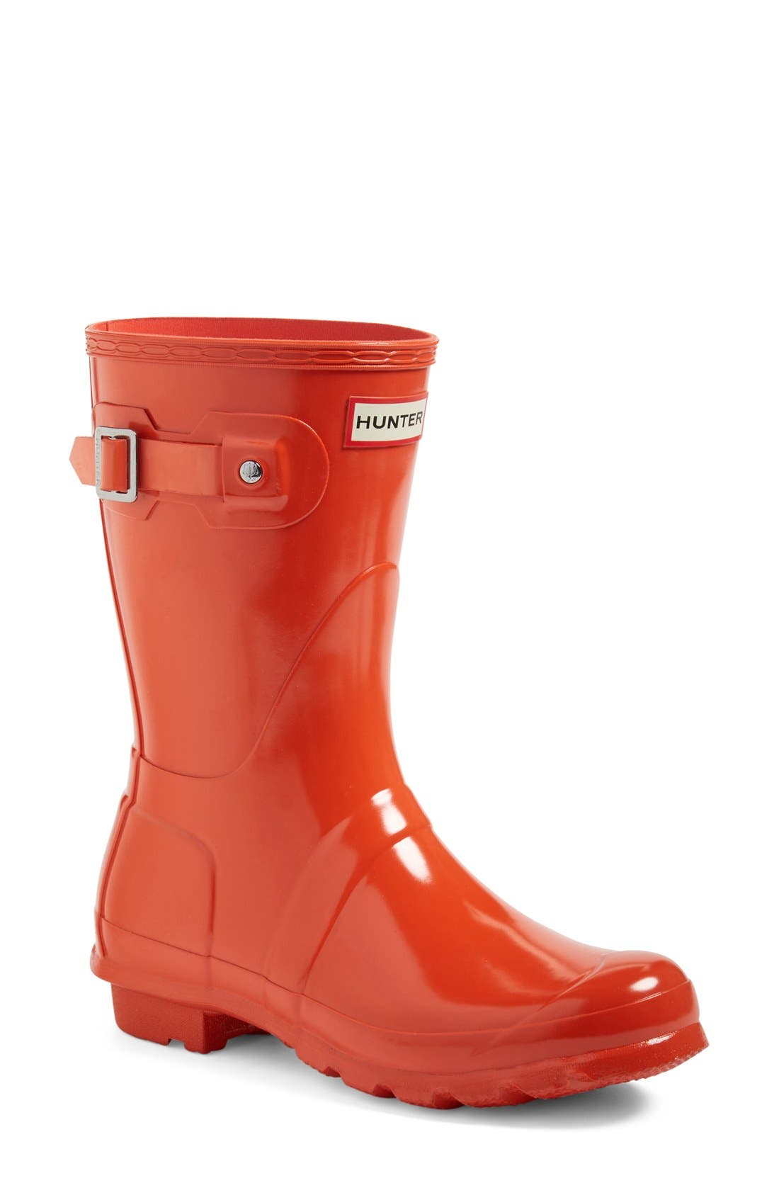 Alternate Image 1 Selected - Hunter 'Original Short' Gloss Rain Boot (Women)