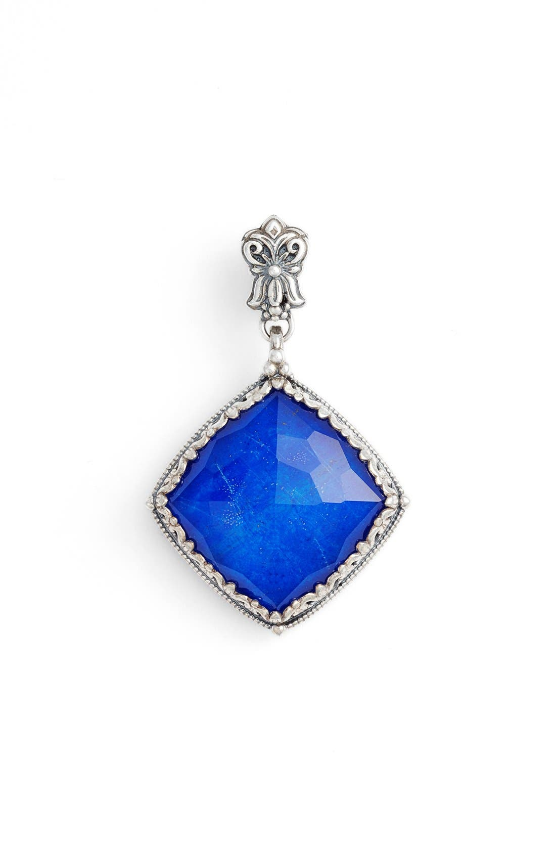 Andromeda Lapis Pendant,                         Main,                         color, Sterling Silver