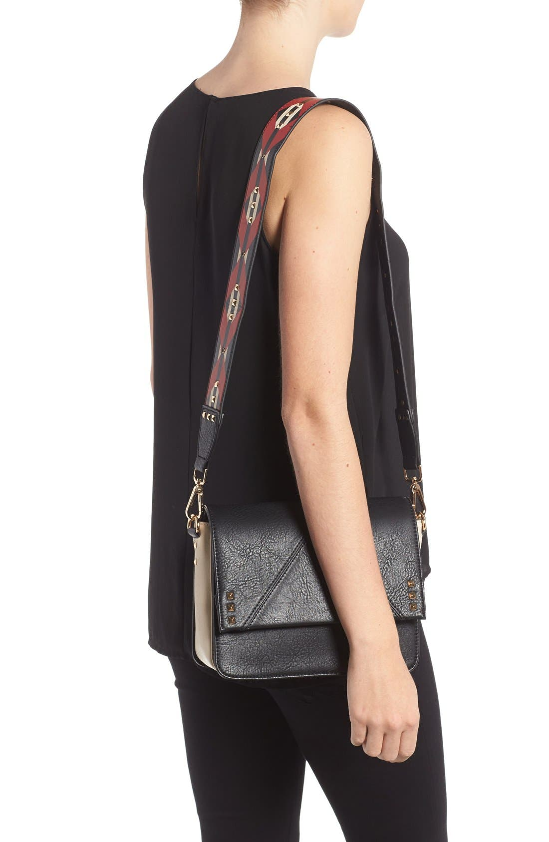 Alternate Image 2  - Steve Madden BScout Statement Strap Shoulder Bag