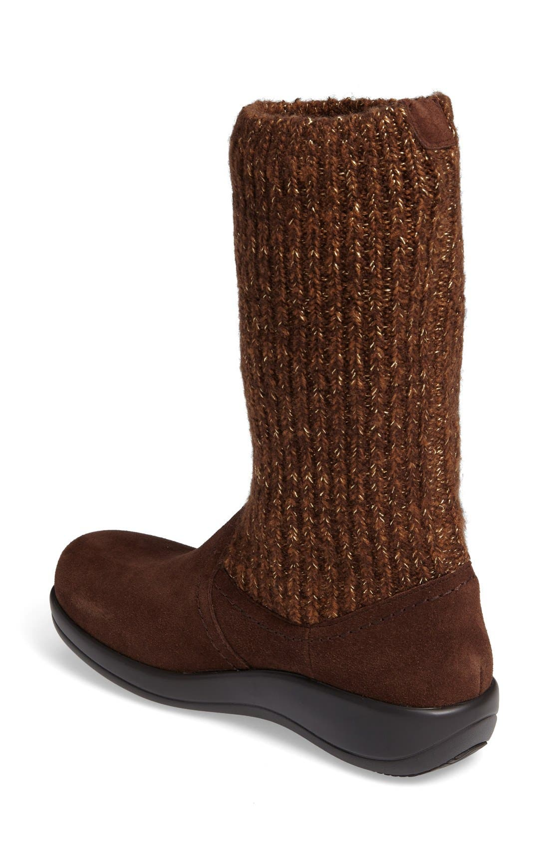 Alternate Image 2  - Alegria Juneau Leather Boot (Women)