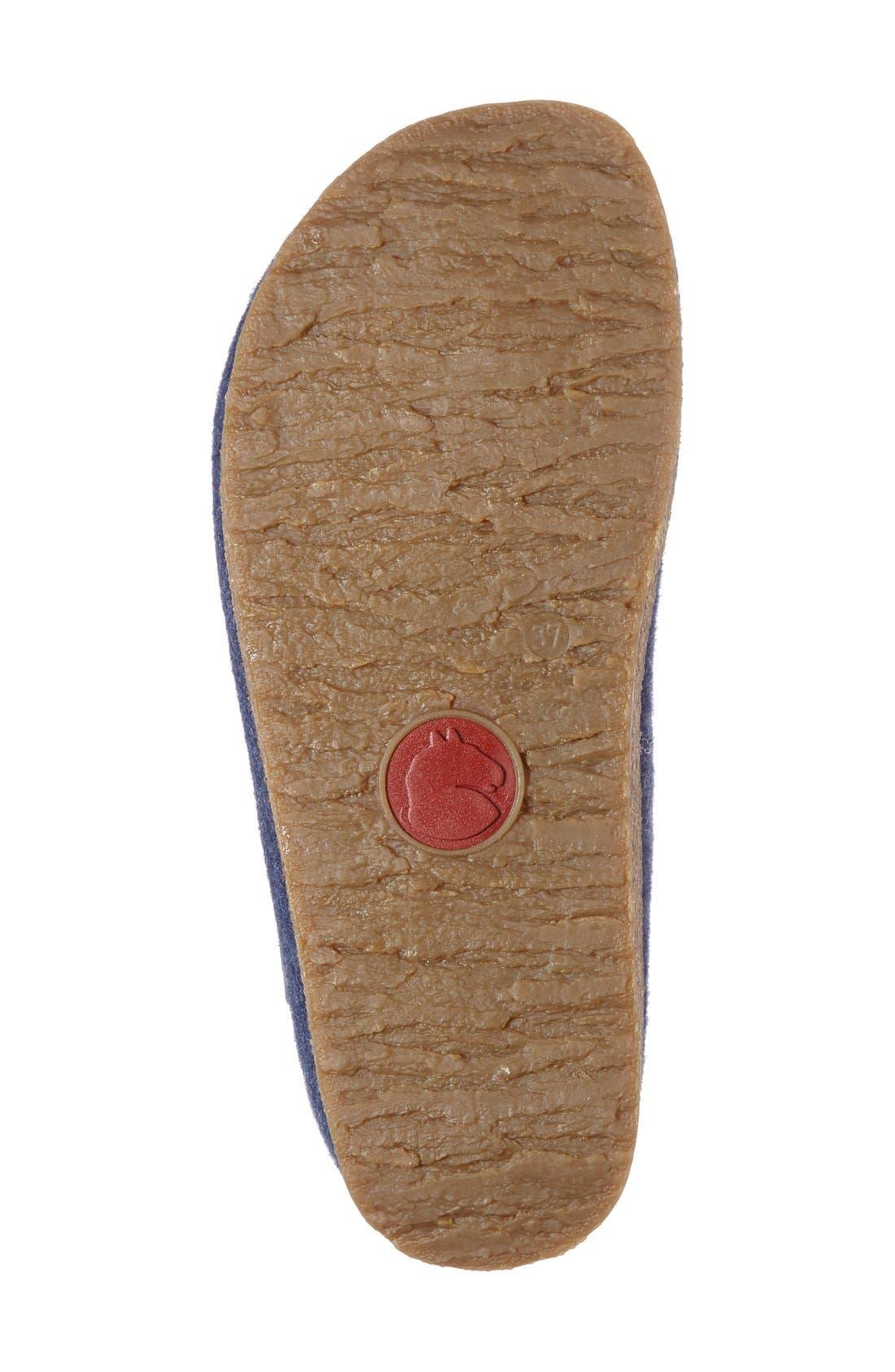 Alternate Image 4  - Haflinger Paisley Slipper (Women)