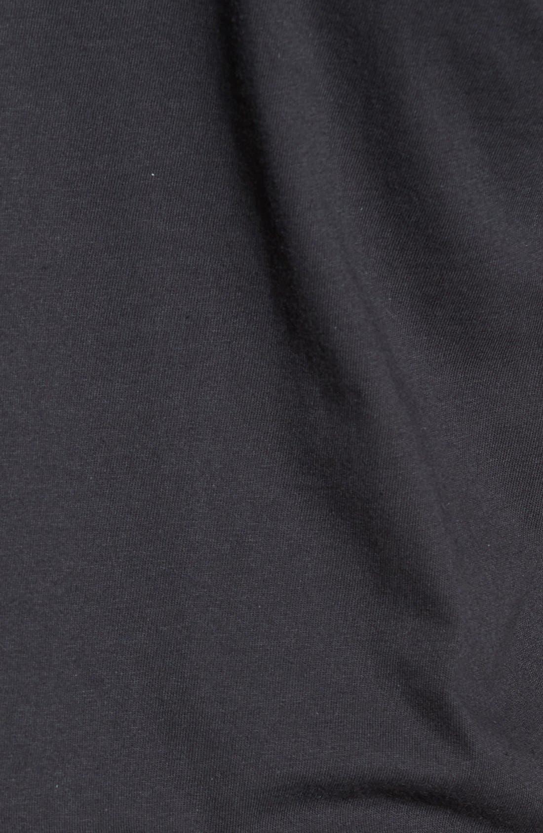 USA Graphic T-Shirt,                             Alternate thumbnail 5, color,                             Black