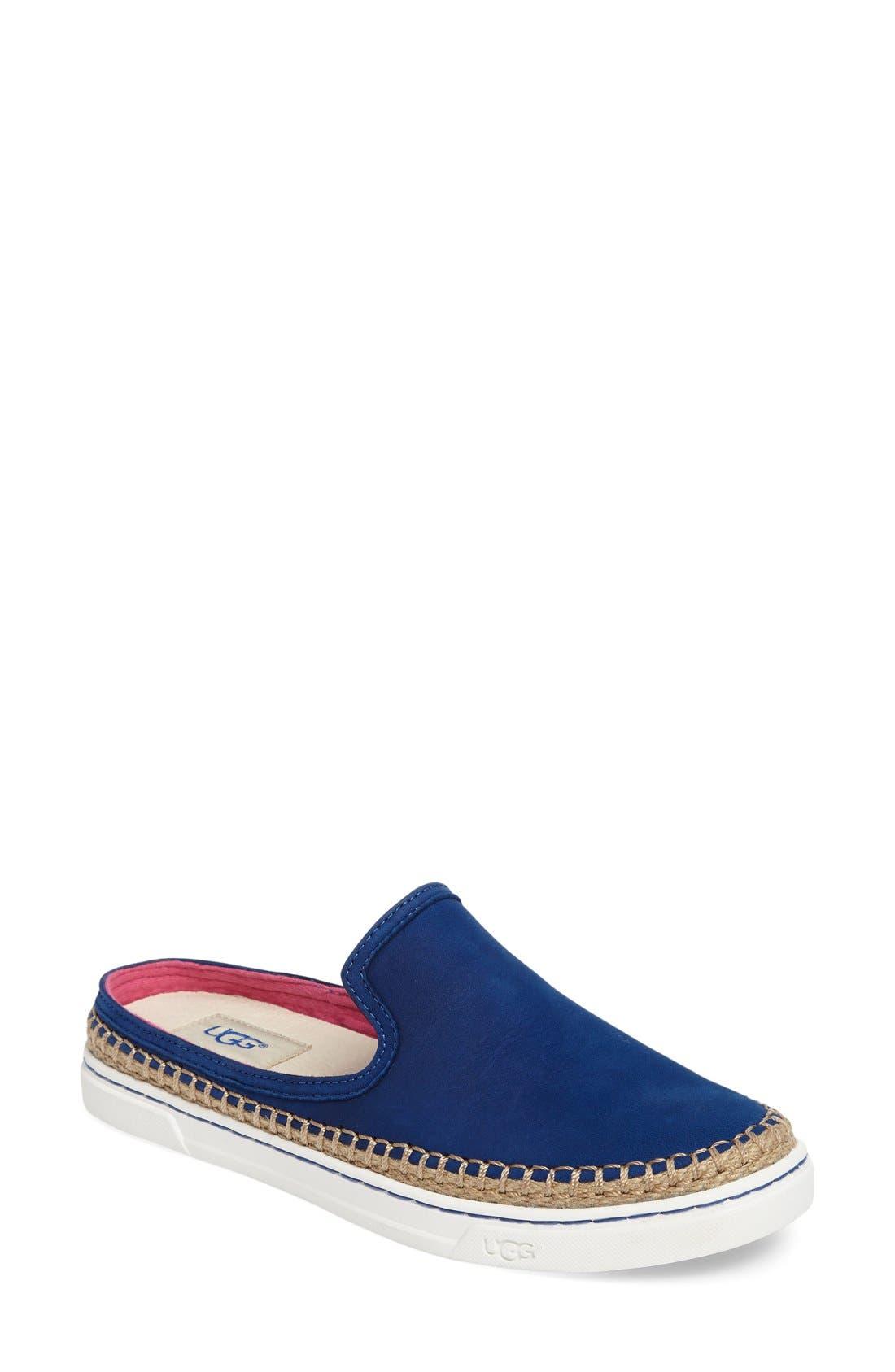 Alternate Image 1 Selected - UGG® 'Caleel' Slip-On Sneaker (Women)
