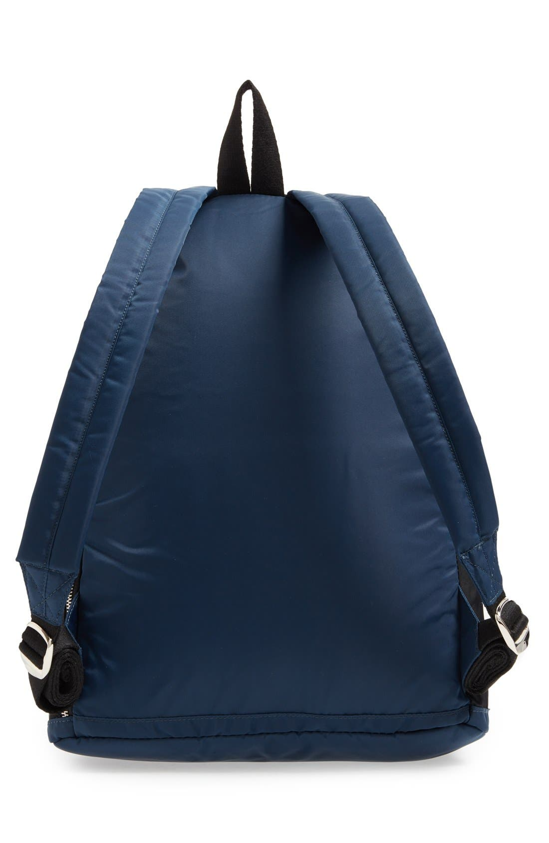 The Heights Adams Backpack,                             Alternate thumbnail 4, color,                             Black/ Navy